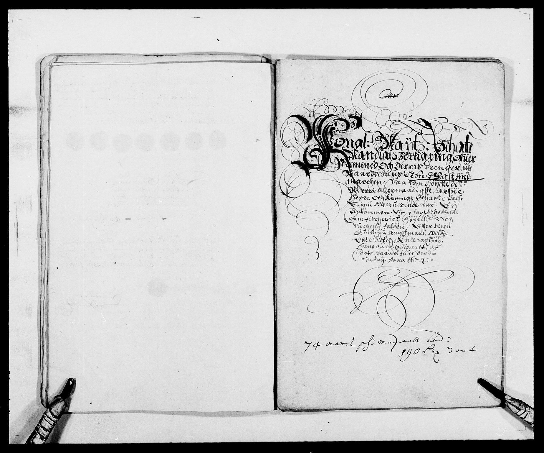 RA, Rentekammeret inntil 1814, Reviderte regnskaper, Fogderegnskap, R69/L4849: Fogderegnskap Finnmark/Vardøhus, 1661-1679, s. 303
