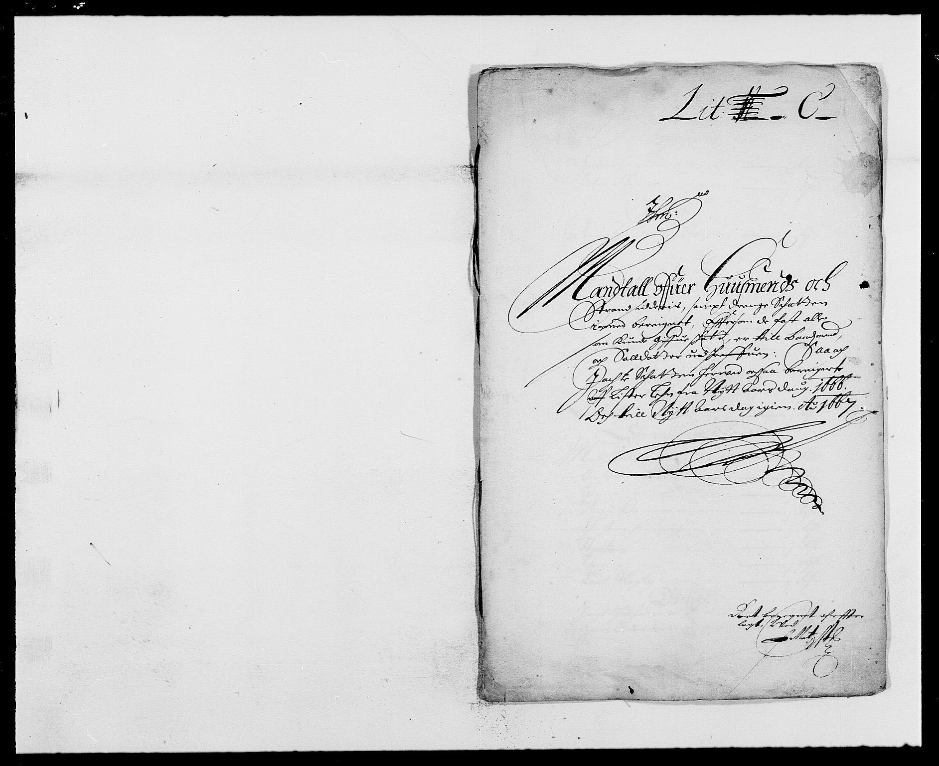RA, Rentekammeret inntil 1814, Reviderte regnskaper, Fogderegnskap, R41/L2524: Fogderegnskap Lista, 1665-1668, s. 221