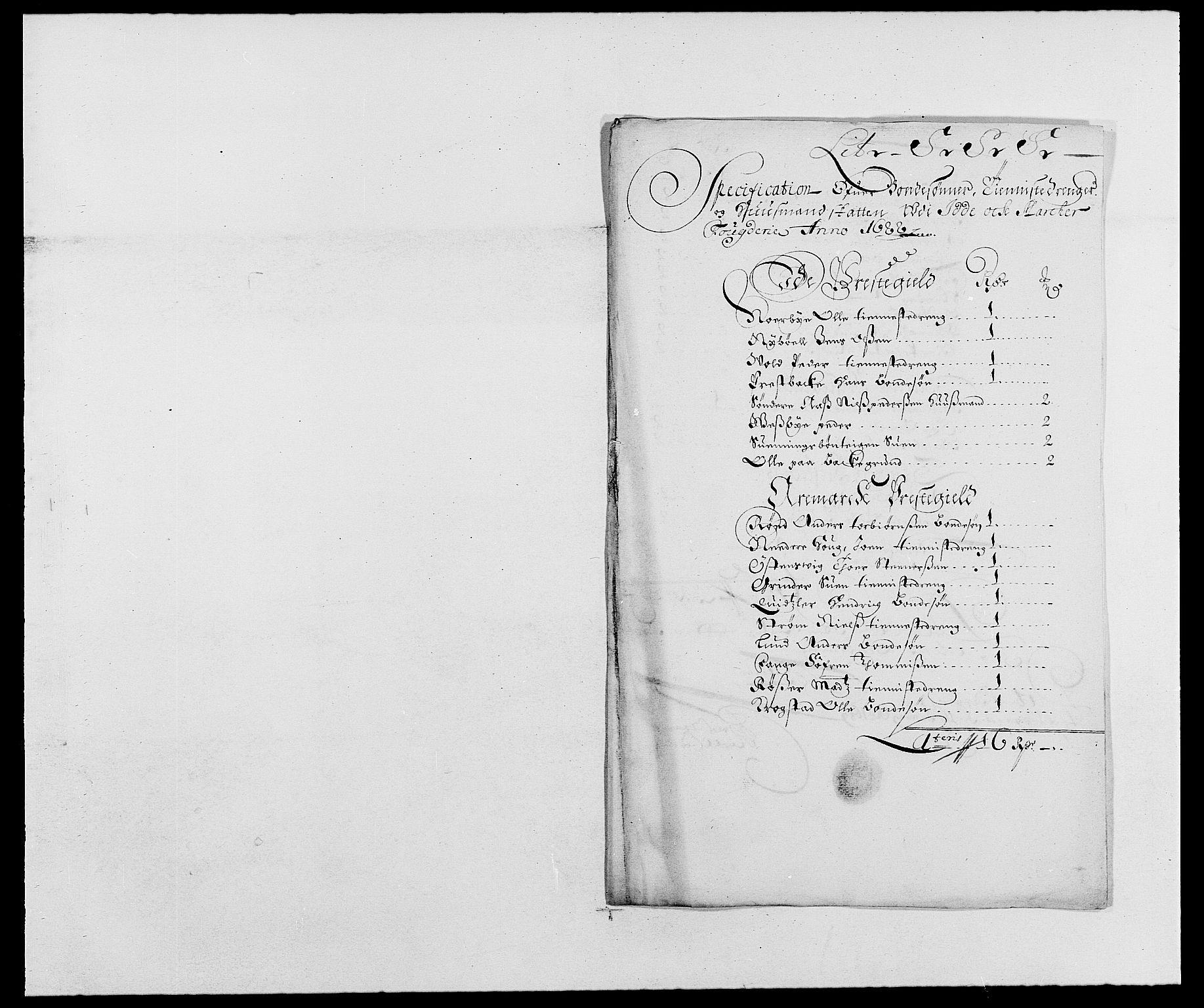 RA, Rentekammeret inntil 1814, Reviderte regnskaper, Fogderegnskap, R01/L0007: Fogderegnskap Idd og Marker, 1687-1688, s. 309