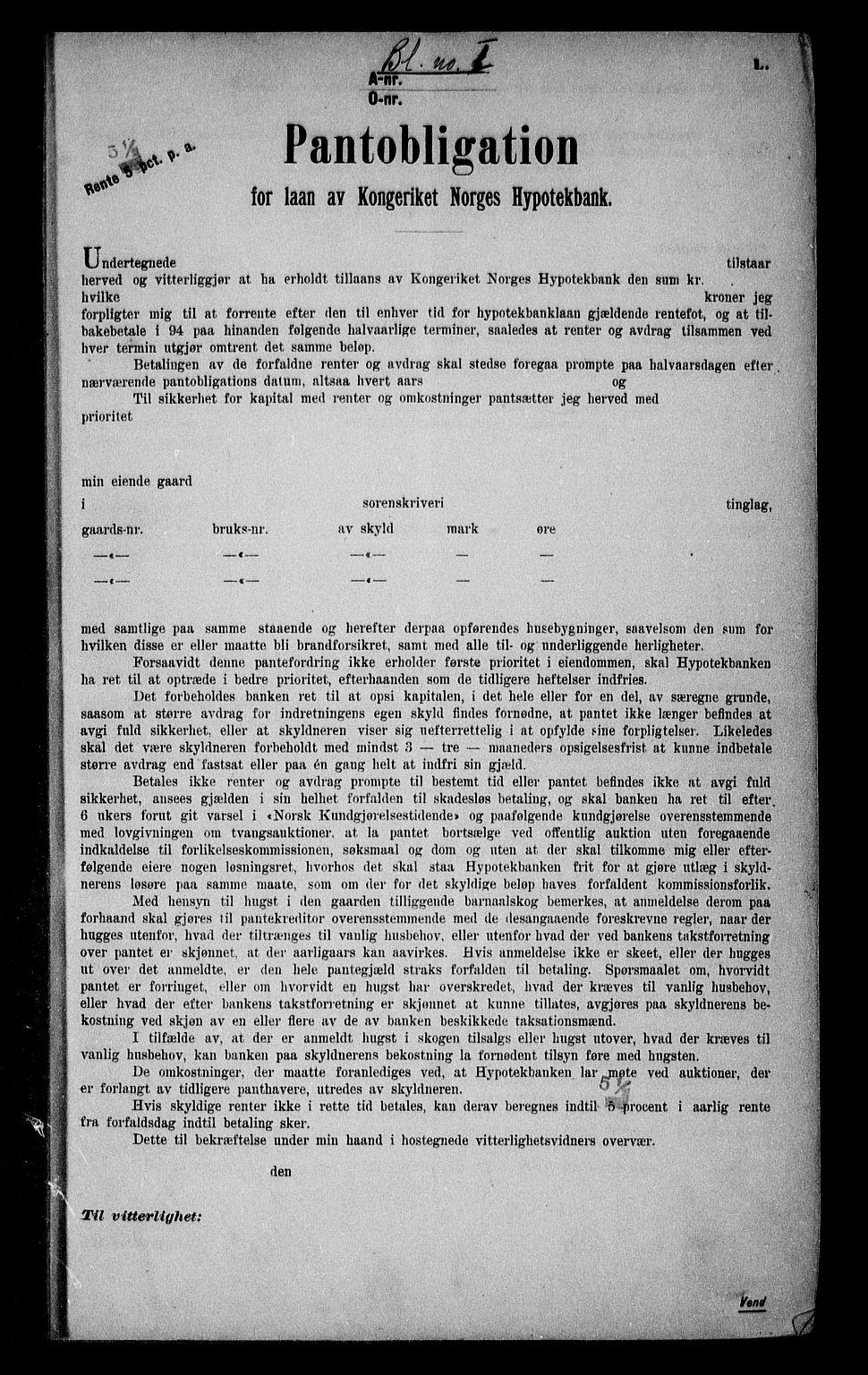 SAO, Onsøy sorenskriveri, G/Ga/Gaa/L0051: Pantebok nr. I 51, 1923-1924, s. 1