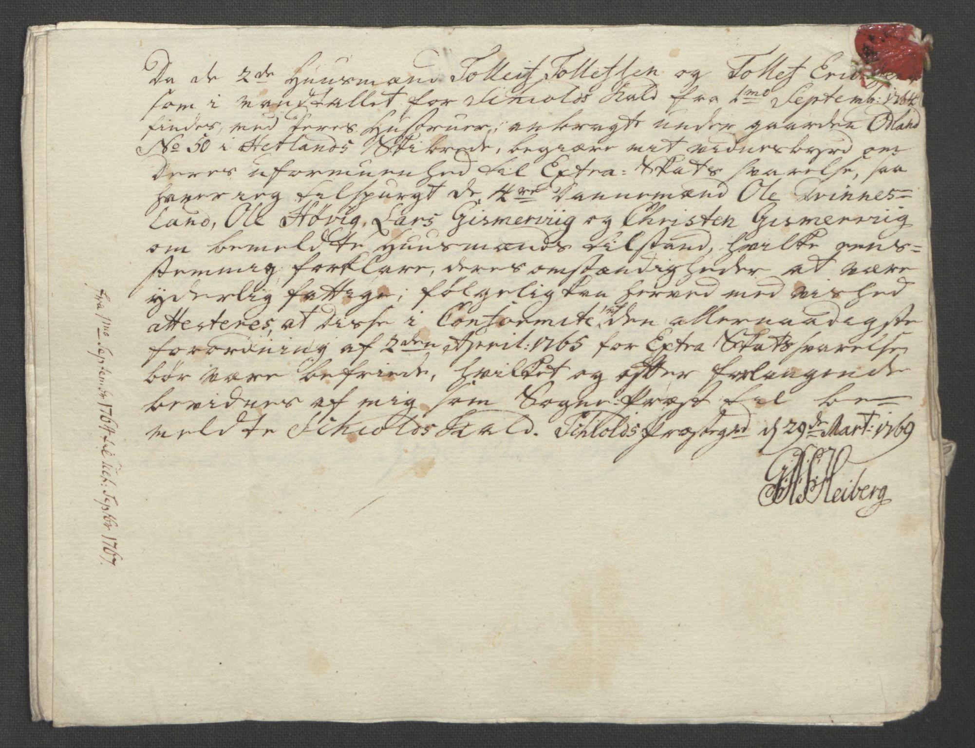 RA, Rentekammeret inntil 1814, Reviderte regnskaper, Fogderegnskap, R47/L2972: Ekstraskatten Ryfylke, 1762-1780, s. 125