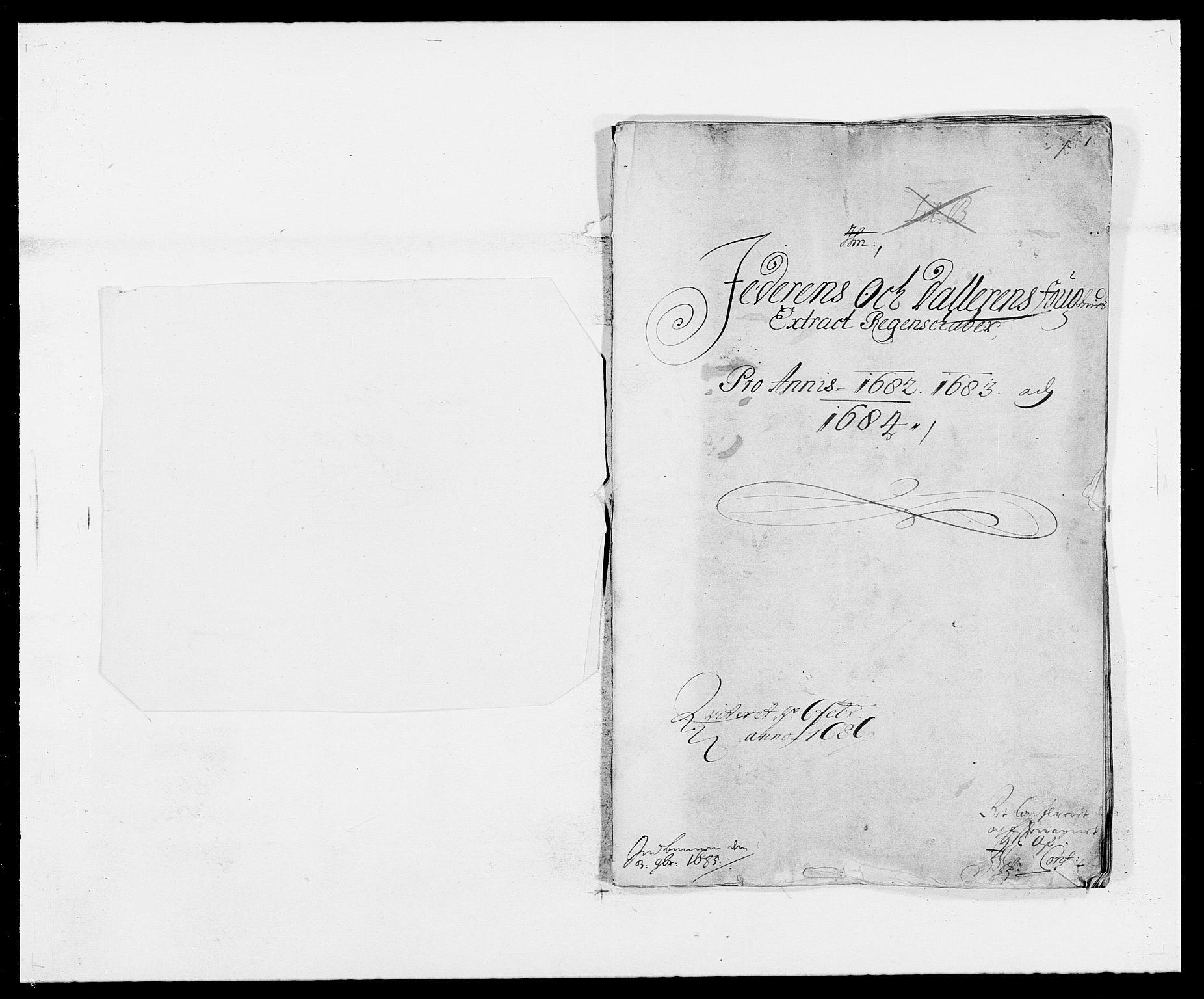 RA, Rentekammeret inntil 1814, Reviderte regnskaper, Fogderegnskap, R46/L2723: Fogderegnskap Jæren og Dalane, 1682-1684, s. 1