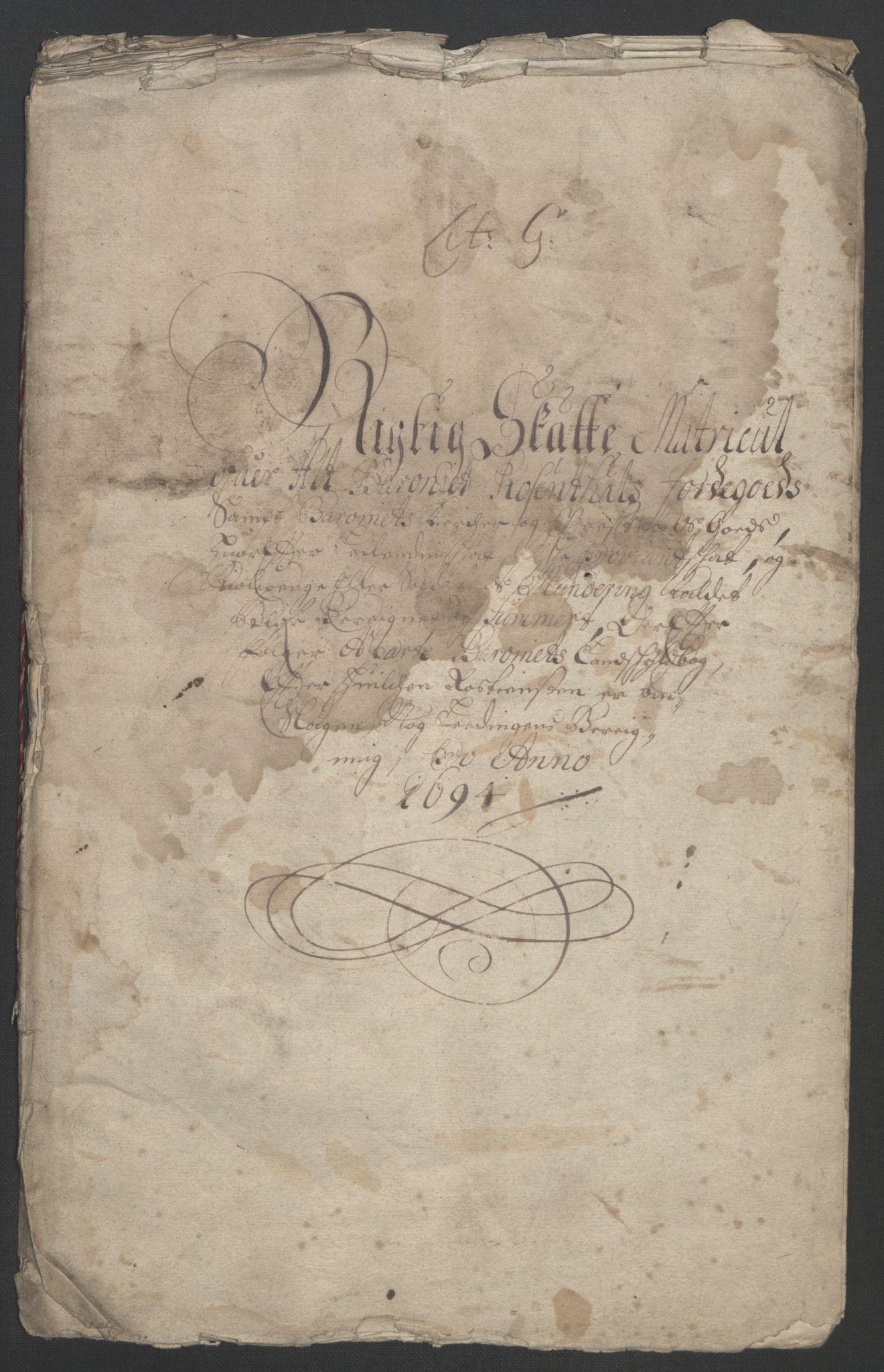 RA, Rentekammeret inntil 1814, Reviderte regnskaper, Fogderegnskap, R49/L3138: Fogderegnskap Rosendal Baroni, 1691-1714, s. 26