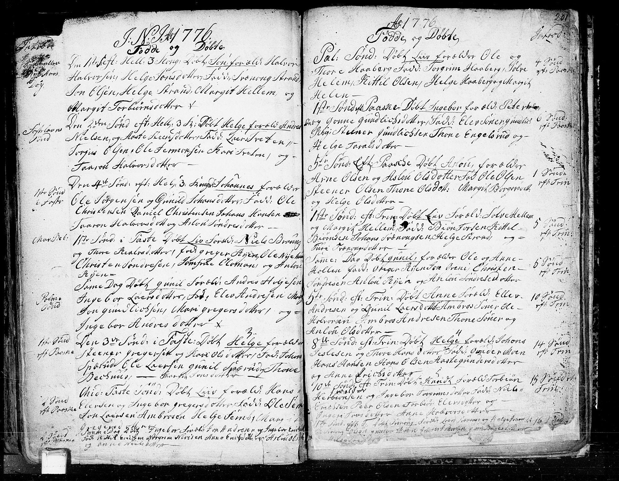 SAKO, Heddal kirkebøker, F/Fa/L0003: Ministerialbok nr. I 3, 1723-1783, s. 201