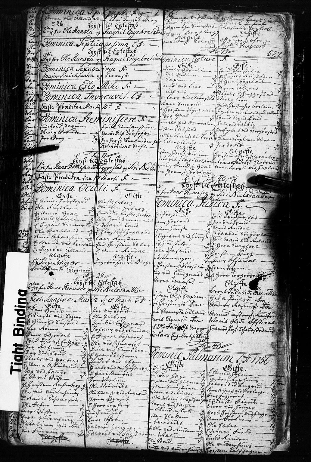 SAH, Fåberg prestekontor, Klokkerbok nr. 2, 1741-1756, s. 526-527