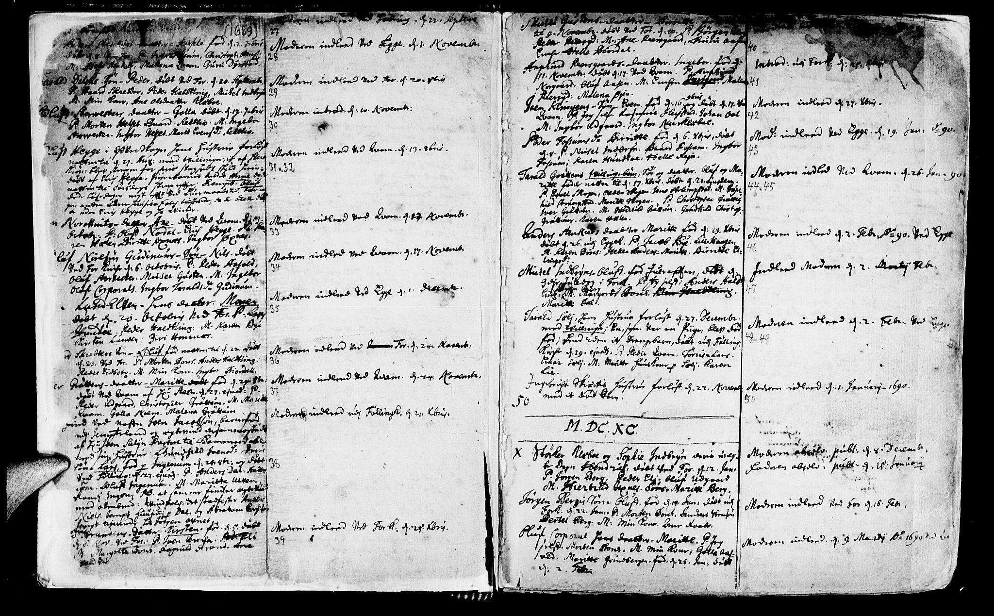 SAT, Ministerialprotokoller, klokkerbøker og fødselsregistre - Nord-Trøndelag, 746/L0439: Ministerialbok nr. 746A01, 1688-1759, s. 3