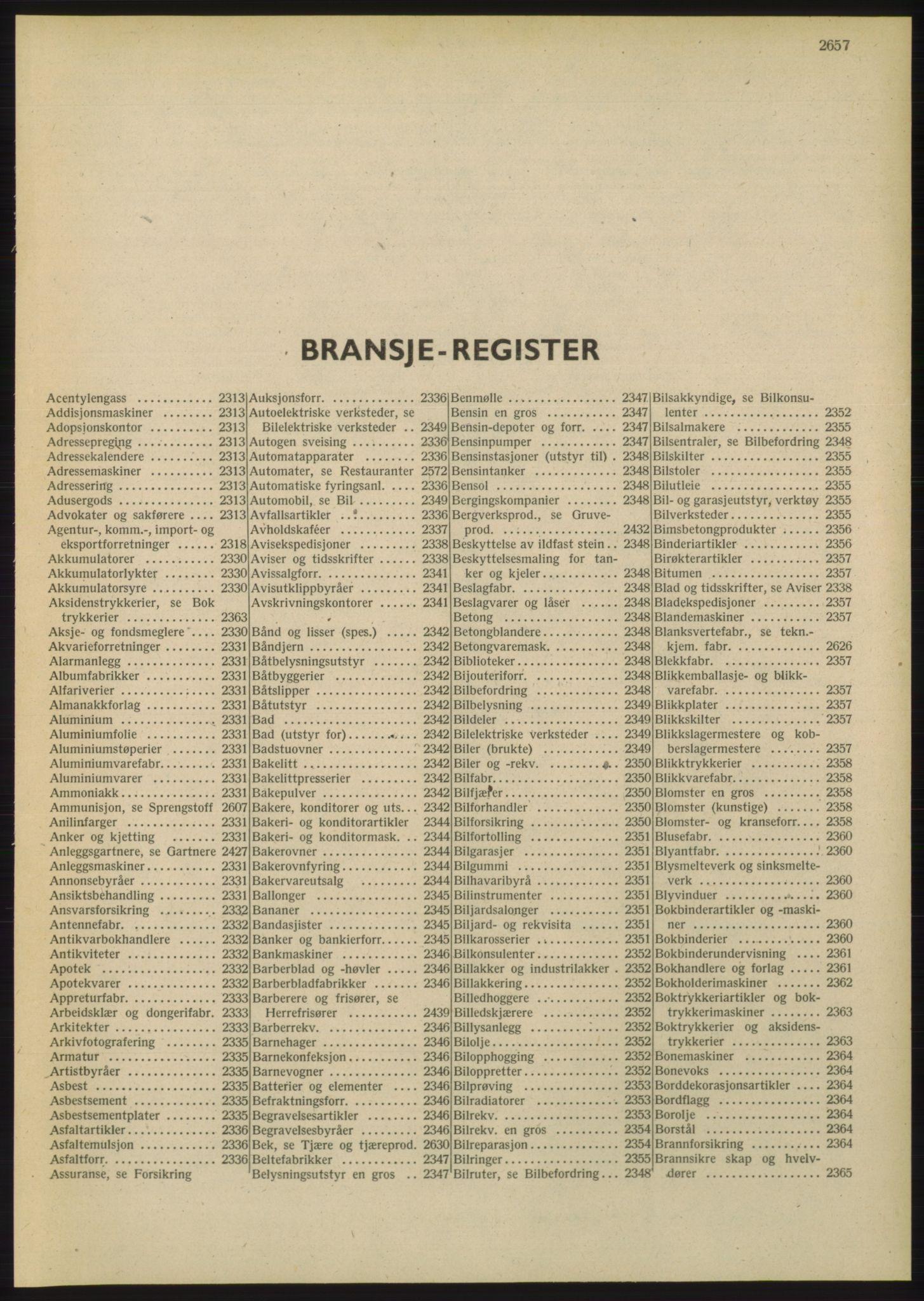 PUBL, Kristiania/Oslo adressebok, 1948, s. 2657