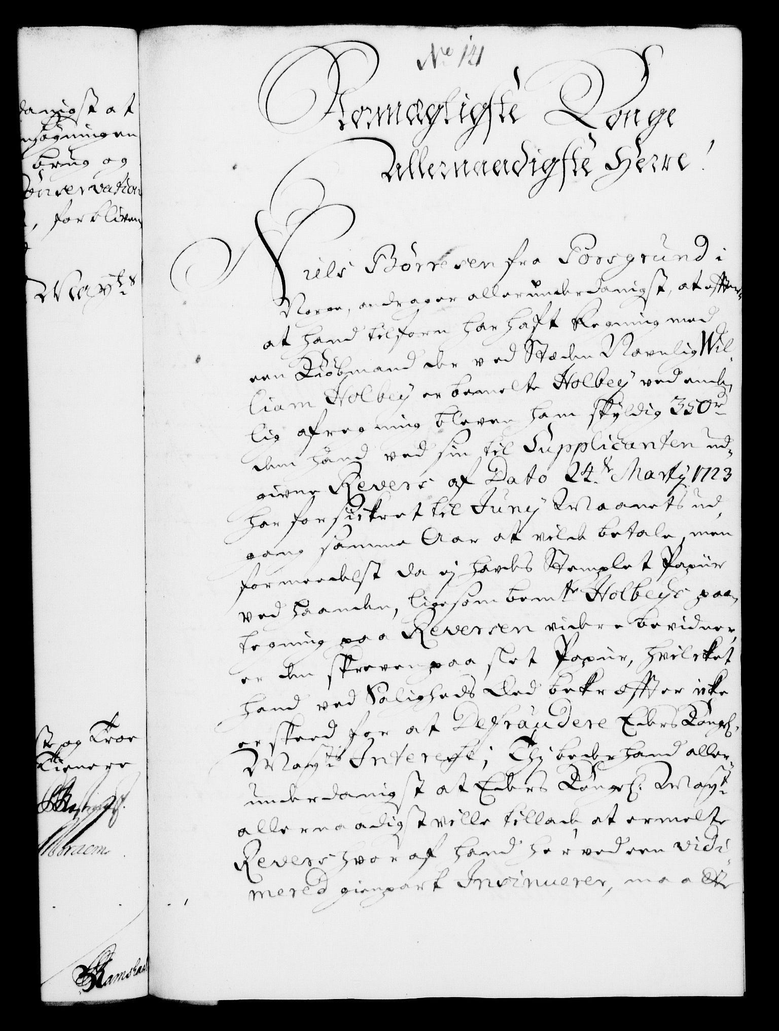 RA, Rentekammeret, Kammerkanselliet, G/Gf/Gfa/L0008: Norsk relasjons- og resolusjonsprotokoll (merket RK 52.8), 1725, s. 774