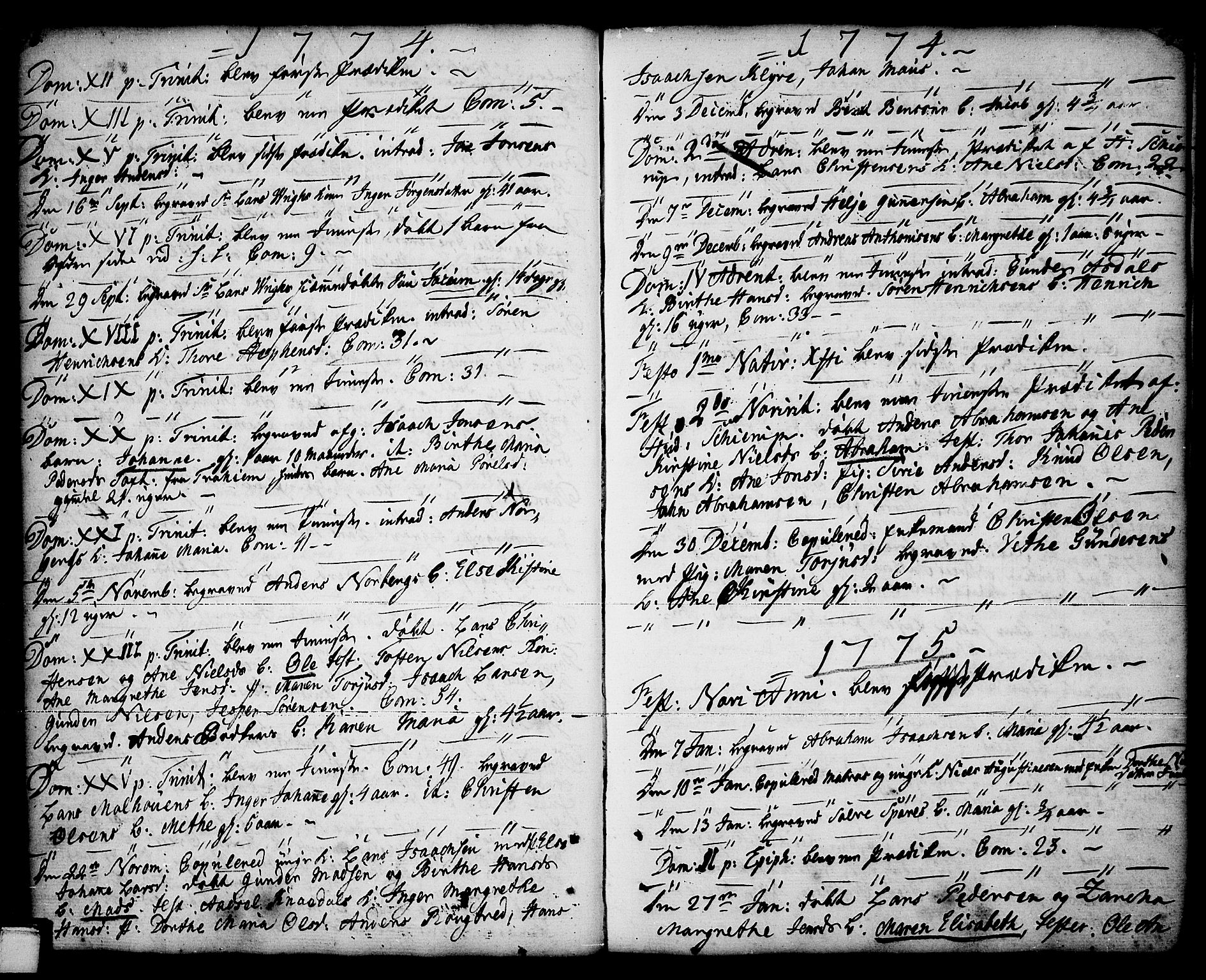SAKO, Porsgrunn kirkebøker , F/Fa/L0001: Ministerialbok nr. 1, 1764-1814, s. 58-59