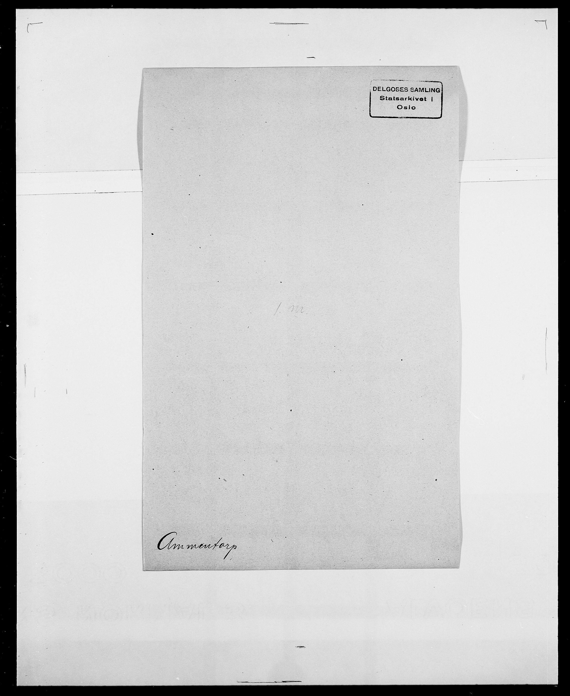 SAO, Delgobe, Charles Antoine - samling, D/Da/L0001: Aabye - Angerman, s. 545