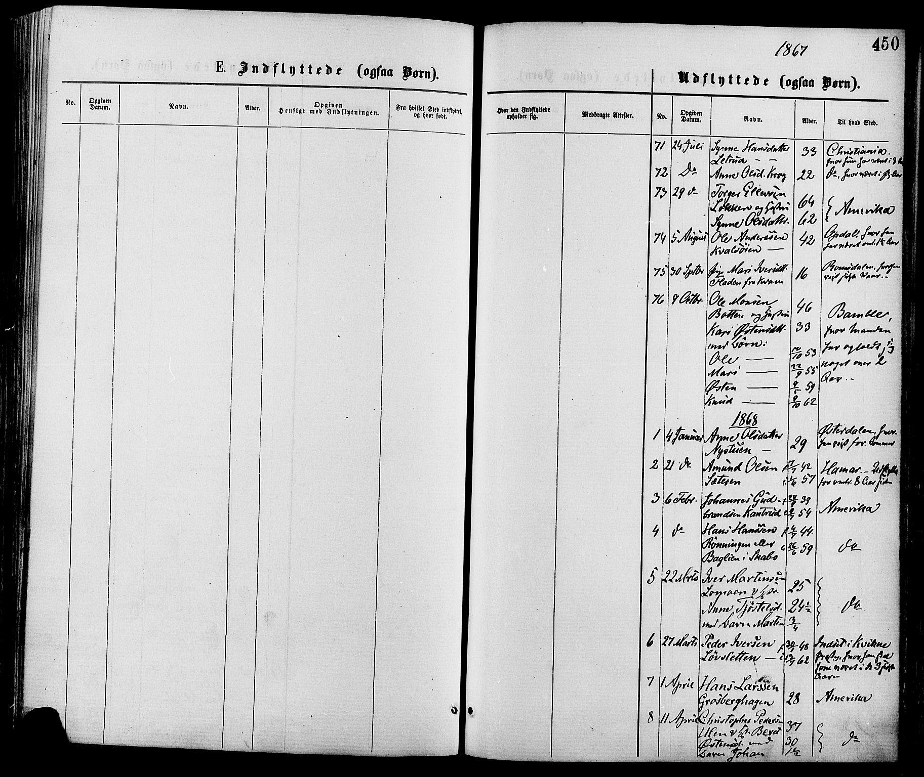 SAH, Nord-Fron prestekontor, Ministerialbok nr. 2, 1865-1883, s. 450