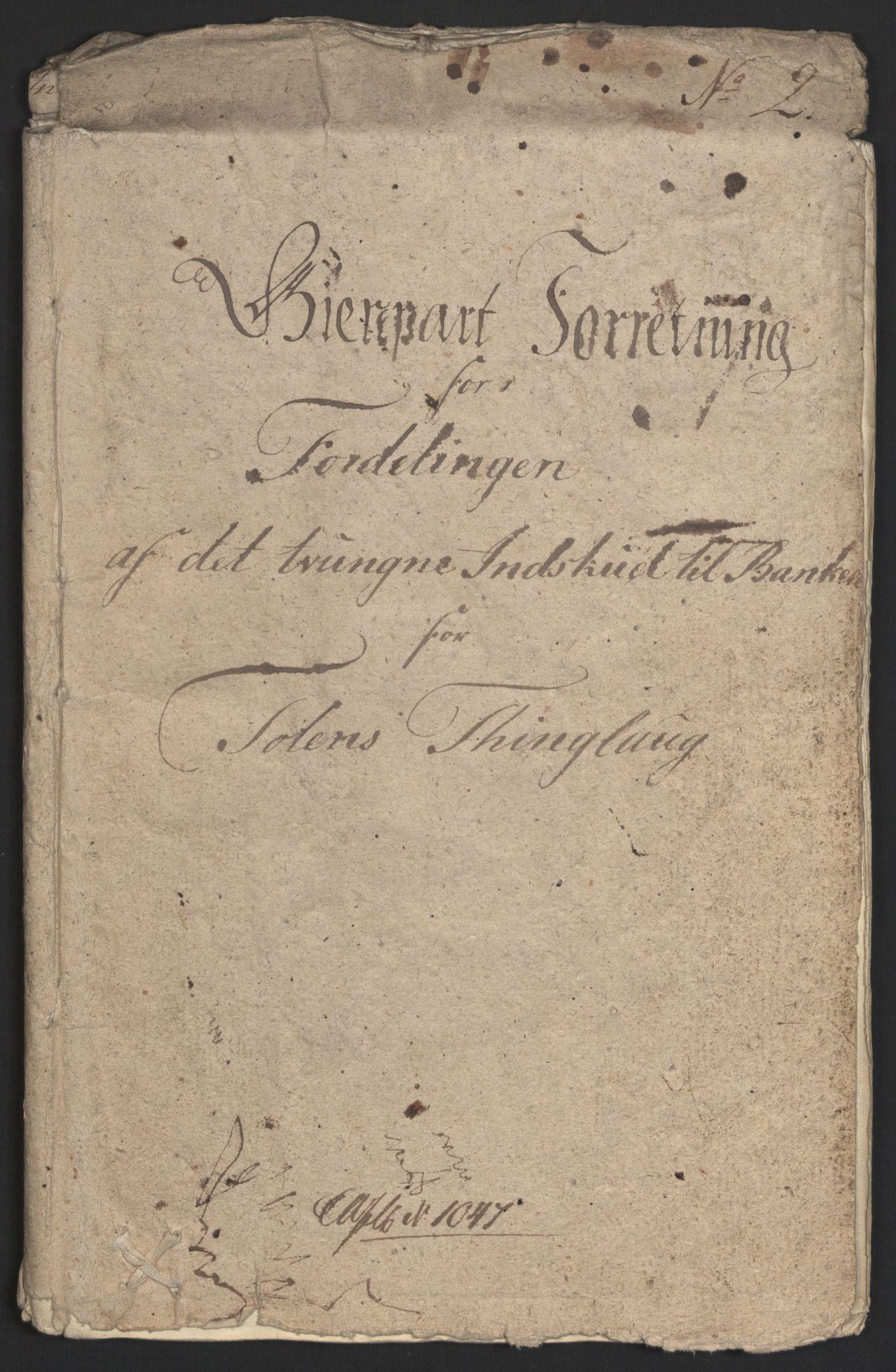 NOBA, Norges Bank/Sølvskatten 1816*, 1816, s. 21