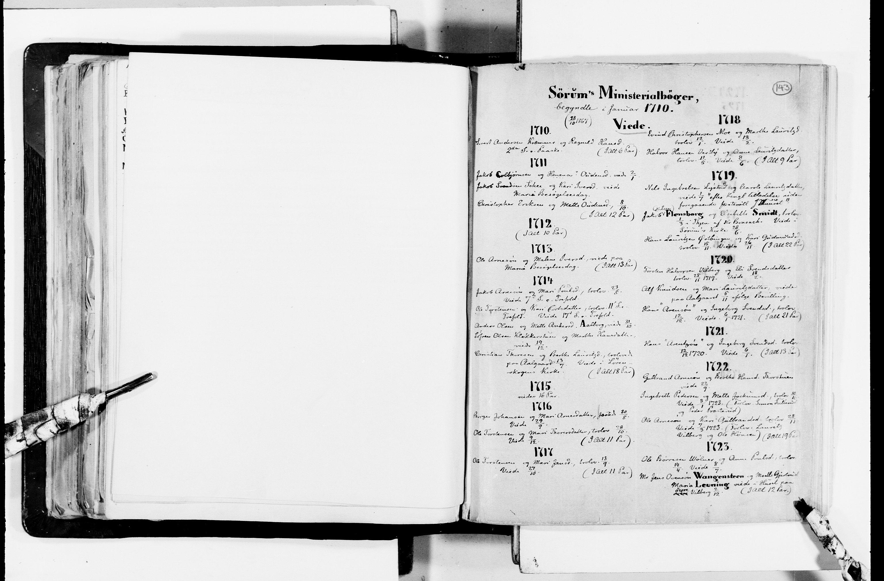 RA, Lassens samlinger, F/Fc, s. 143
