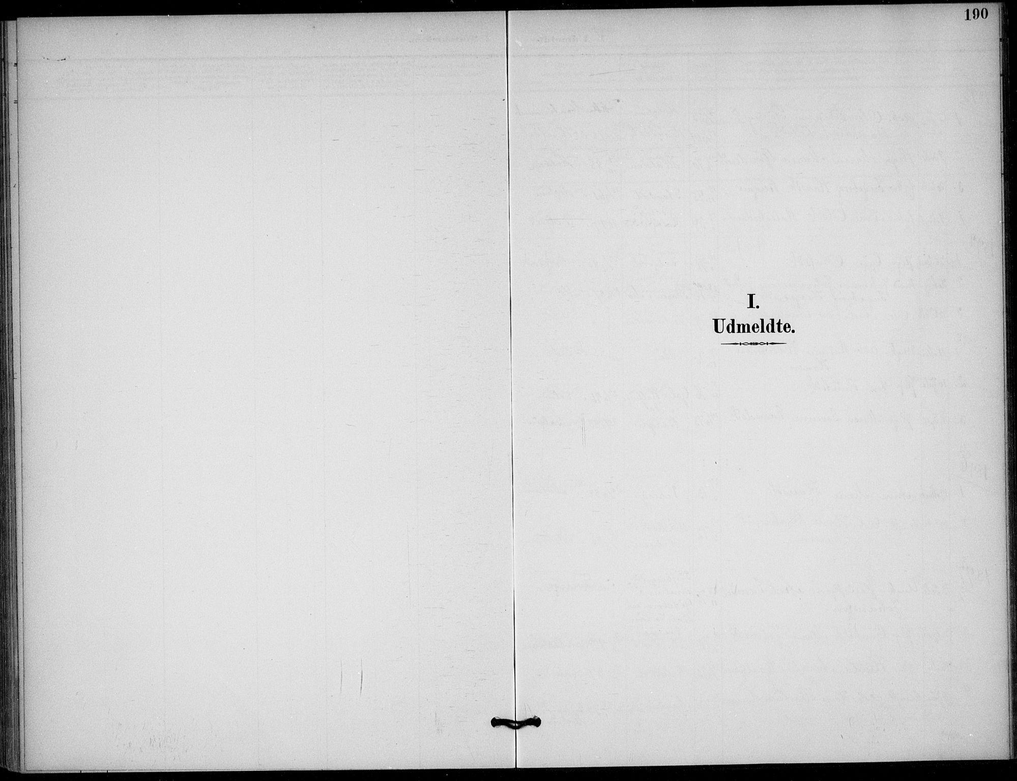SAKO, Solum kirkebøker, F/Fb/L0002: Ministerialbok nr. II 2, 1893-1901, s. 190