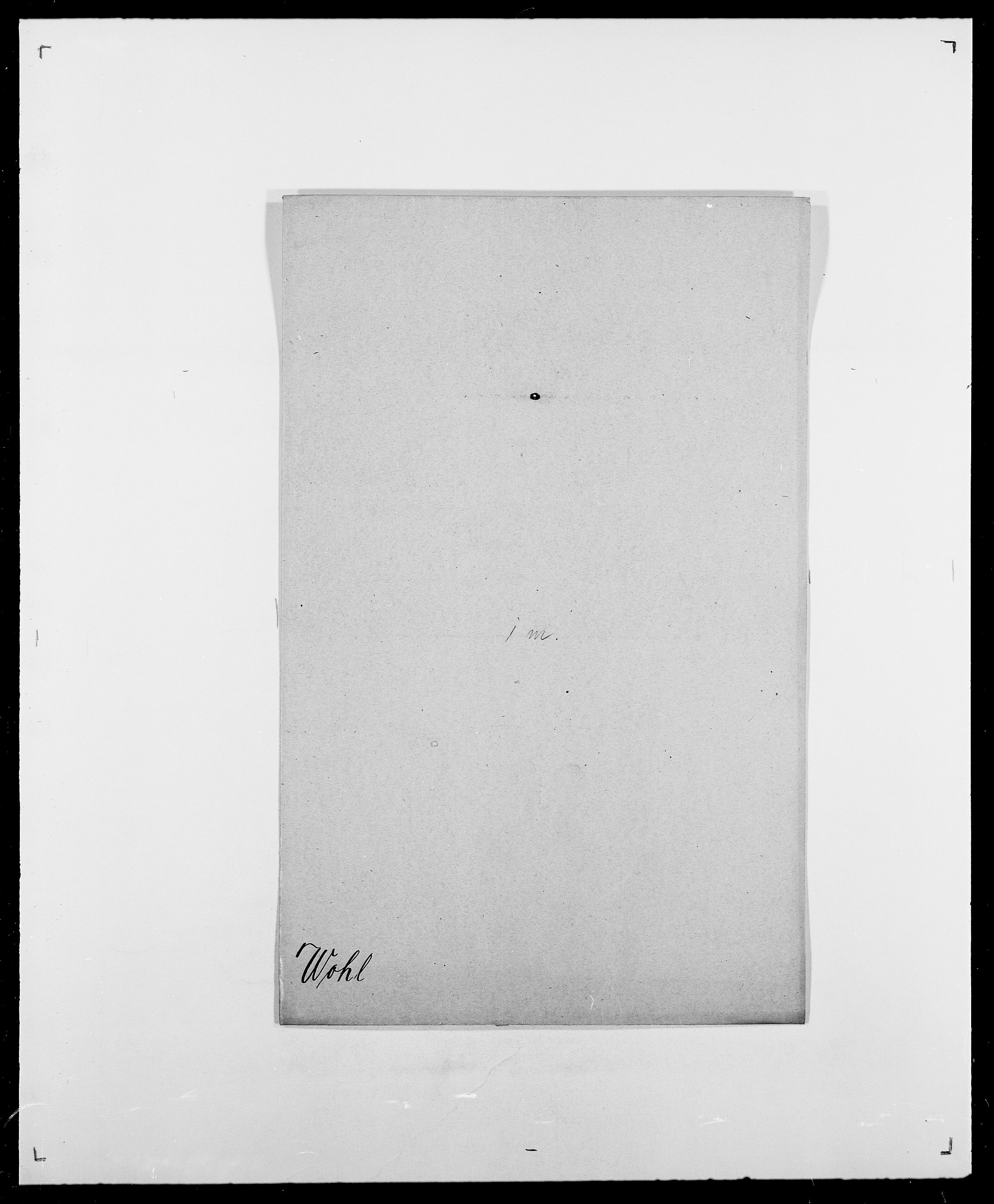 SAO, Delgobe, Charles Antoine - samling, D/Da/L0042: Vilain - Wulf, Wulff, se også Wolf, s. 568