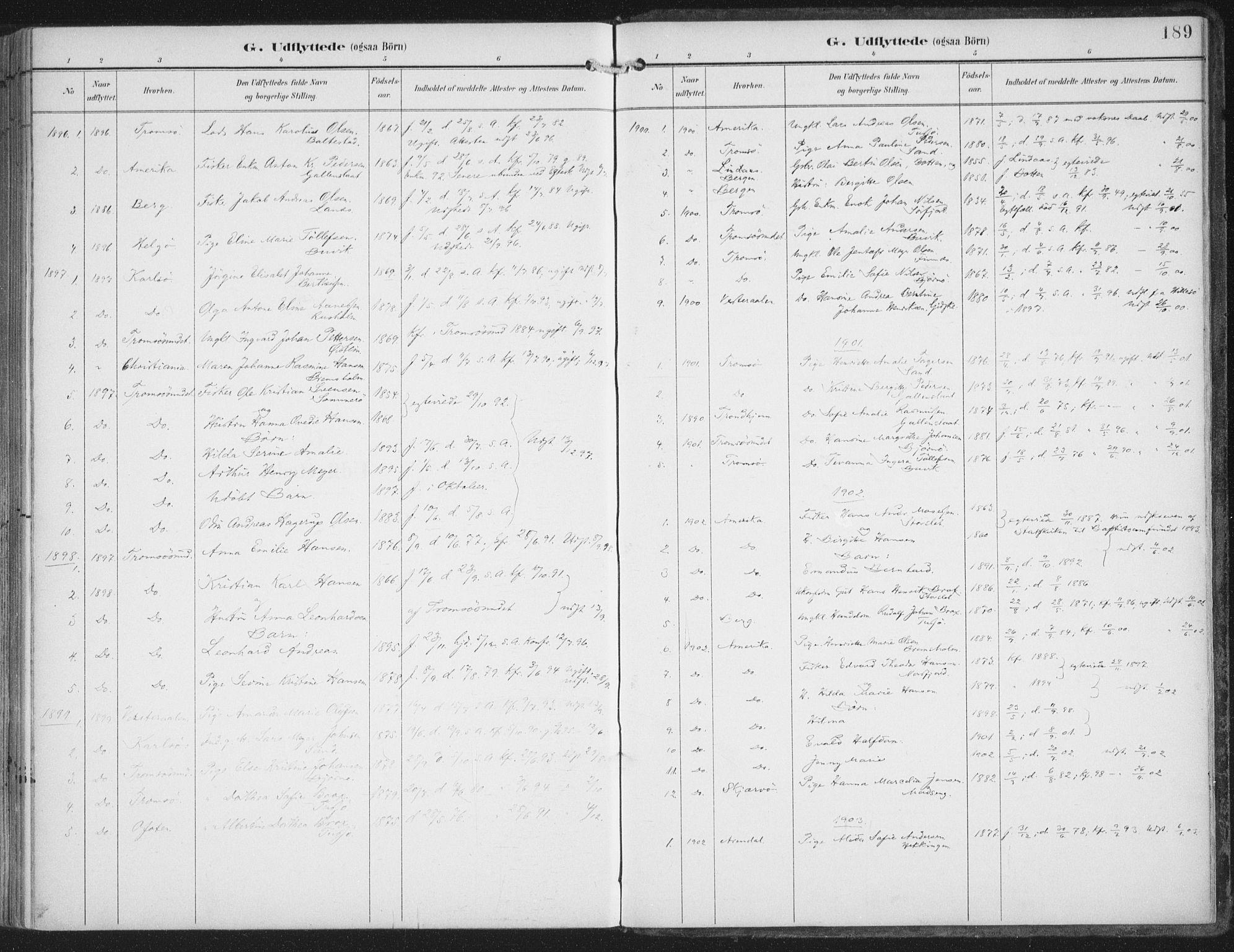 SATØ, Lenvik sokneprestembete, H/Ha: Ministerialbok nr. 15, 1896-1915, s. 189