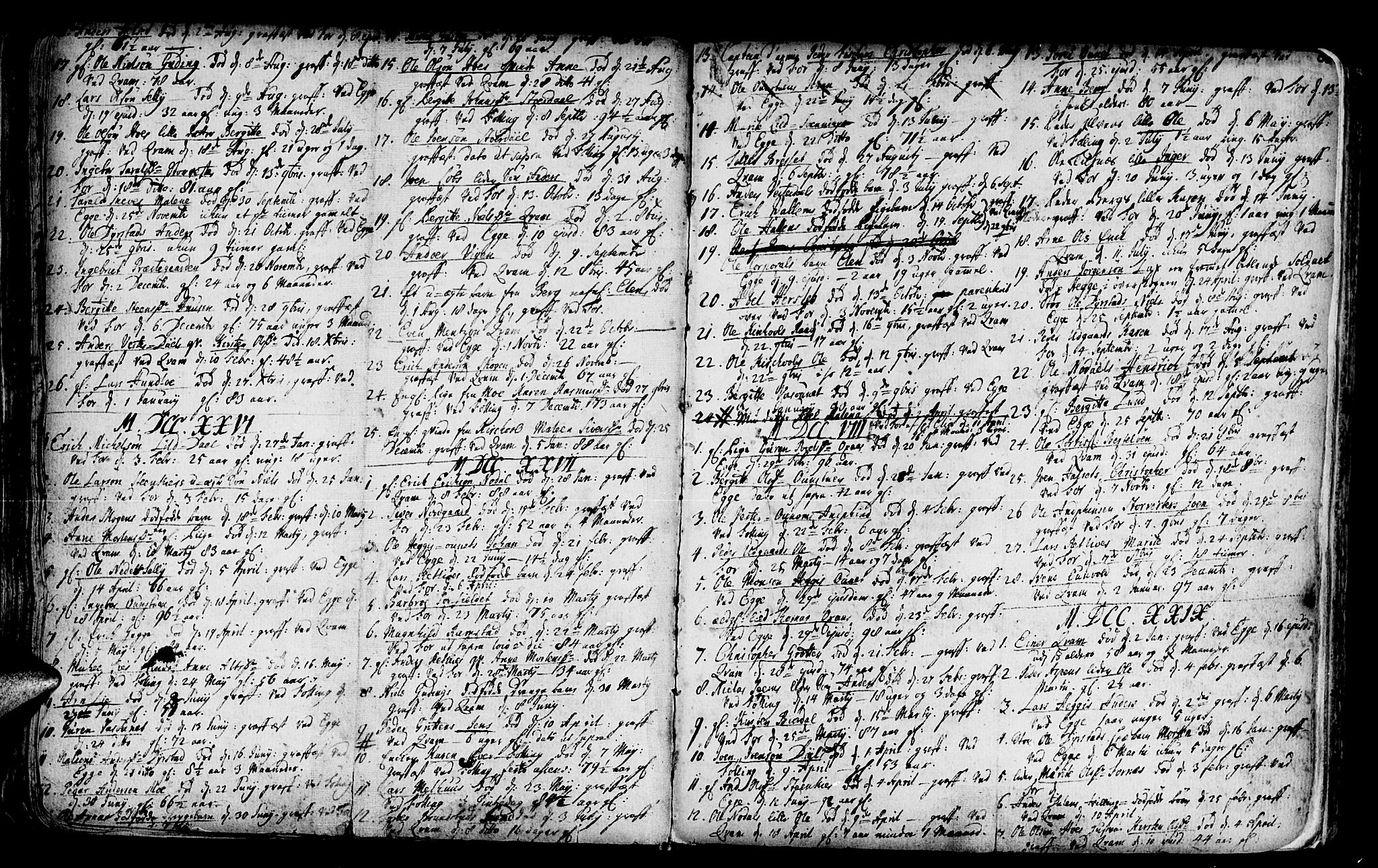 SAT, Ministerialprotokoller, klokkerbøker og fødselsregistre - Nord-Trøndelag, 746/L0439: Ministerialbok nr. 746A01, 1688-1759, s. 60
