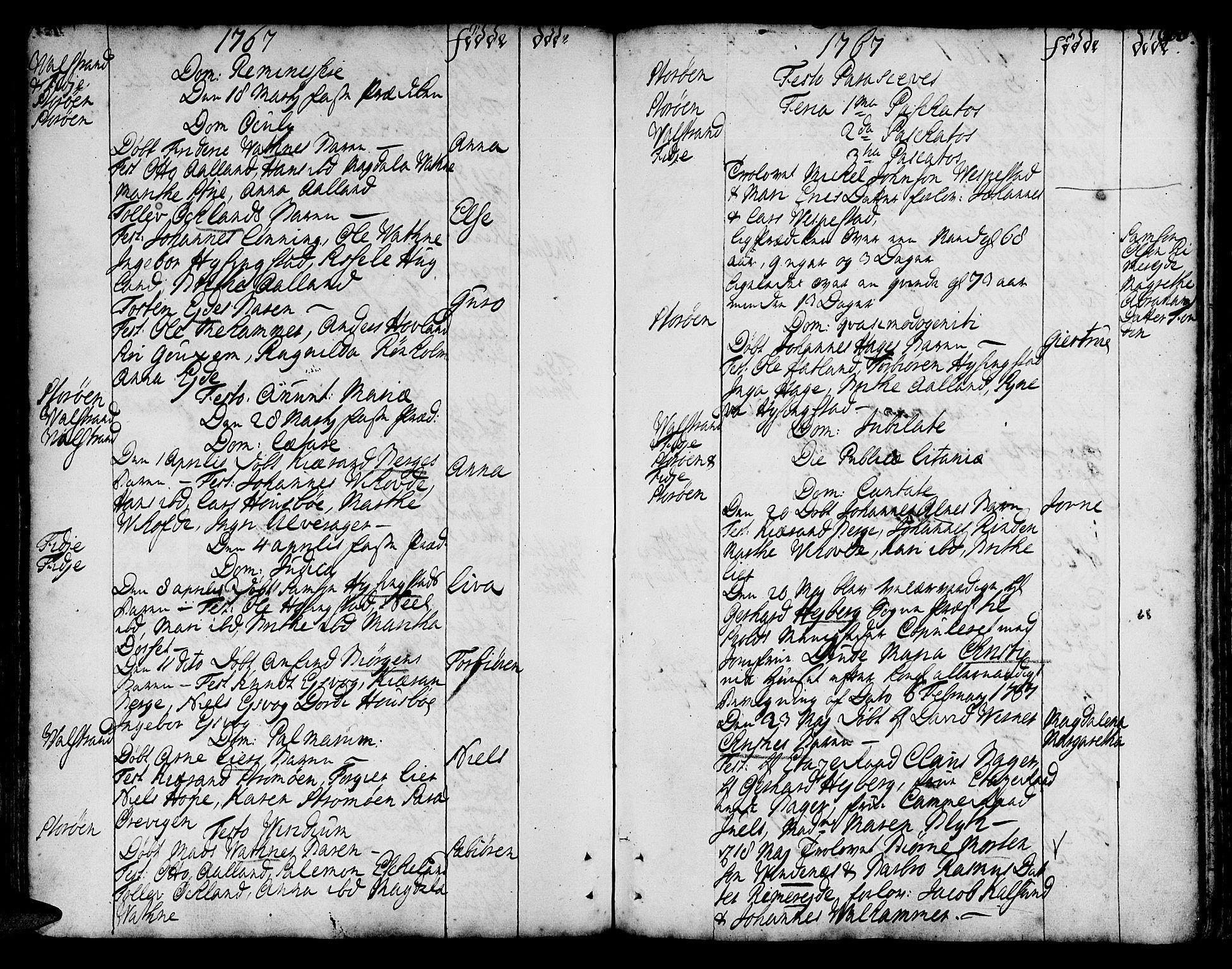 SAB, Stord Sokneprestembete, H/Haa: Ministerialbok nr. A 2, 1744-1777, s. 160