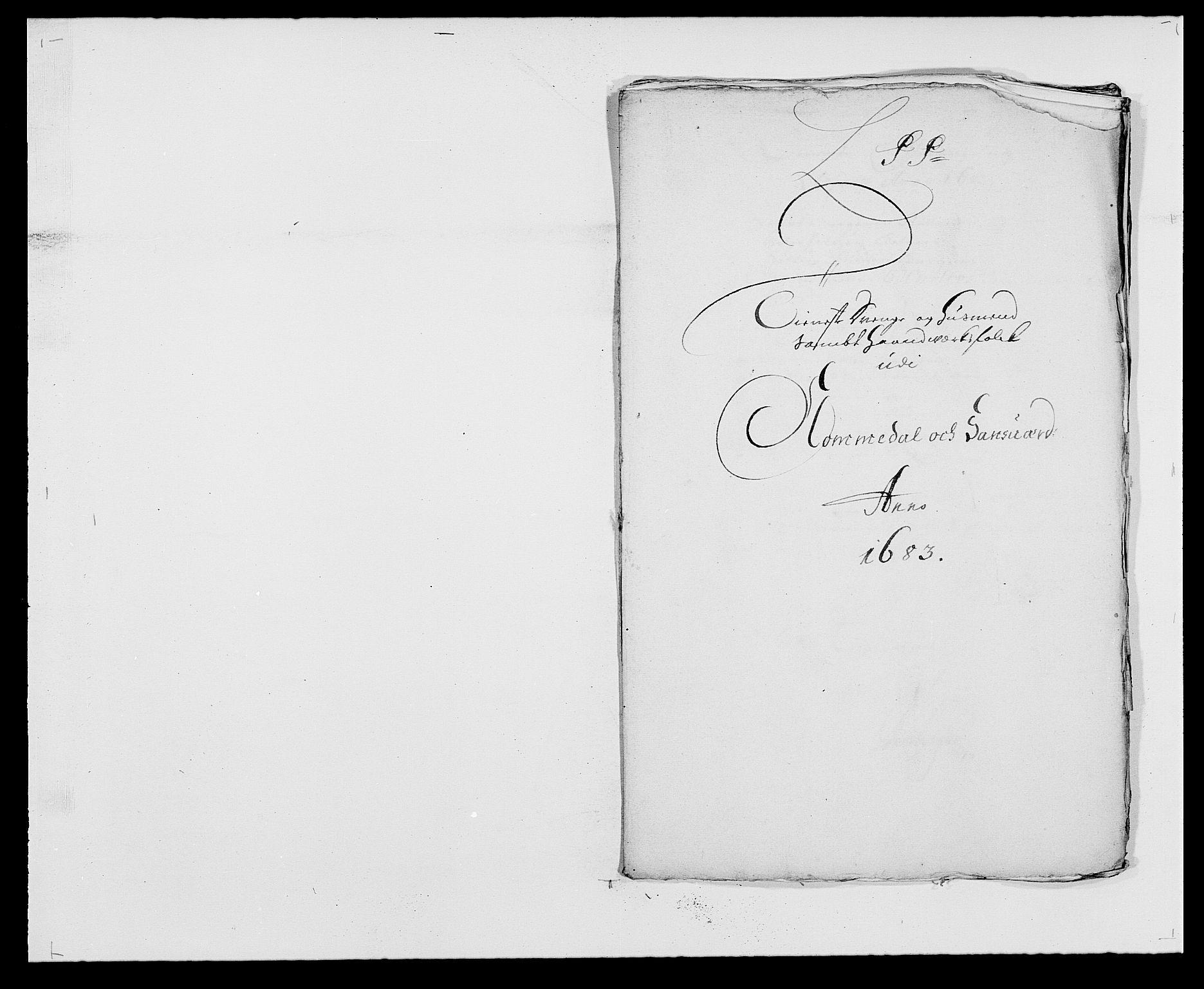 RA, Rentekammeret inntil 1814, Reviderte regnskaper, Fogderegnskap, R24/L1570: Fogderegnskap Numedal og Sandsvær, 1679-1686, s. 331