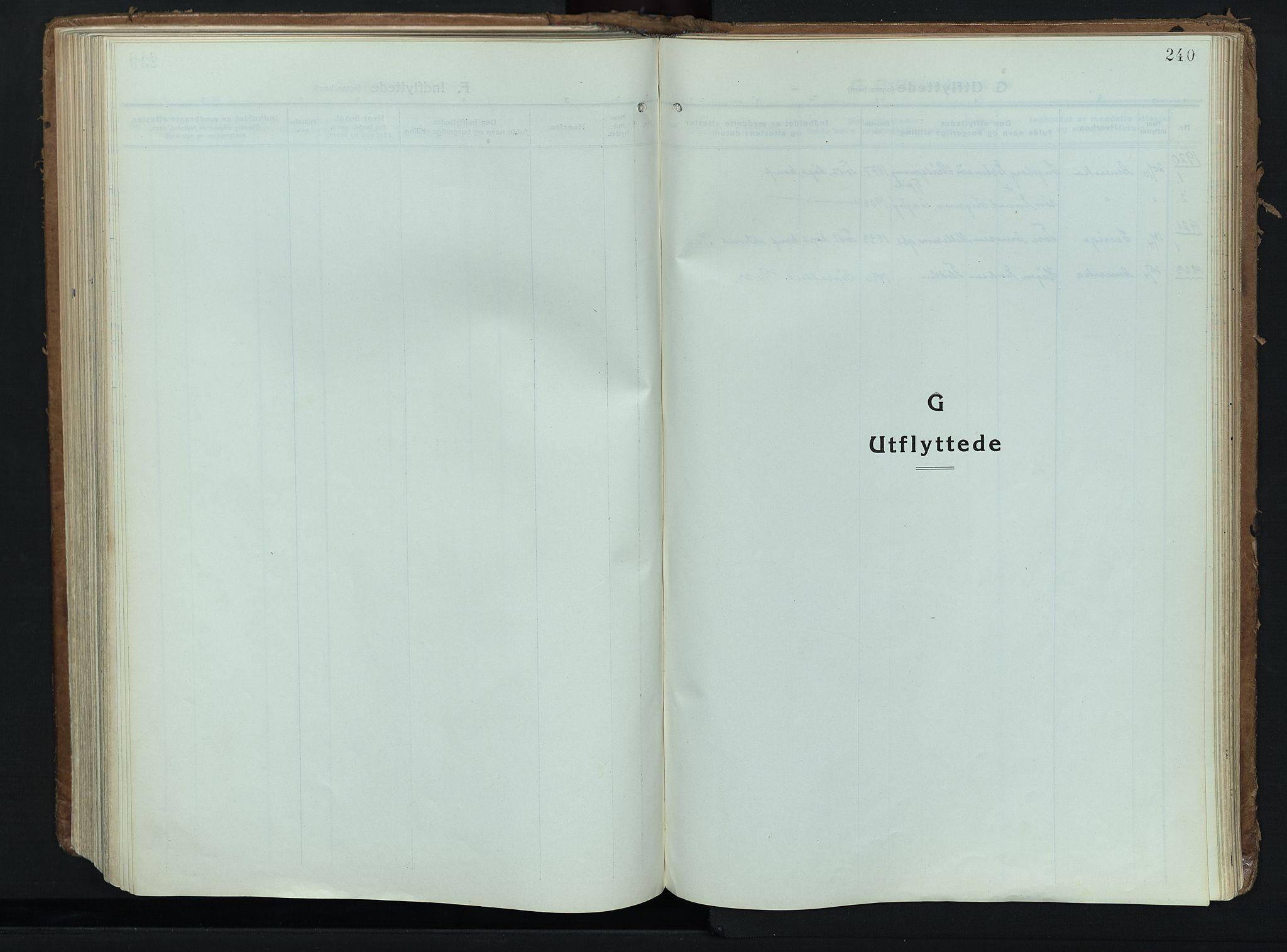 SAH, Alvdal prestekontor, Ministerialbok nr. 6, 1920-1937, s. 240