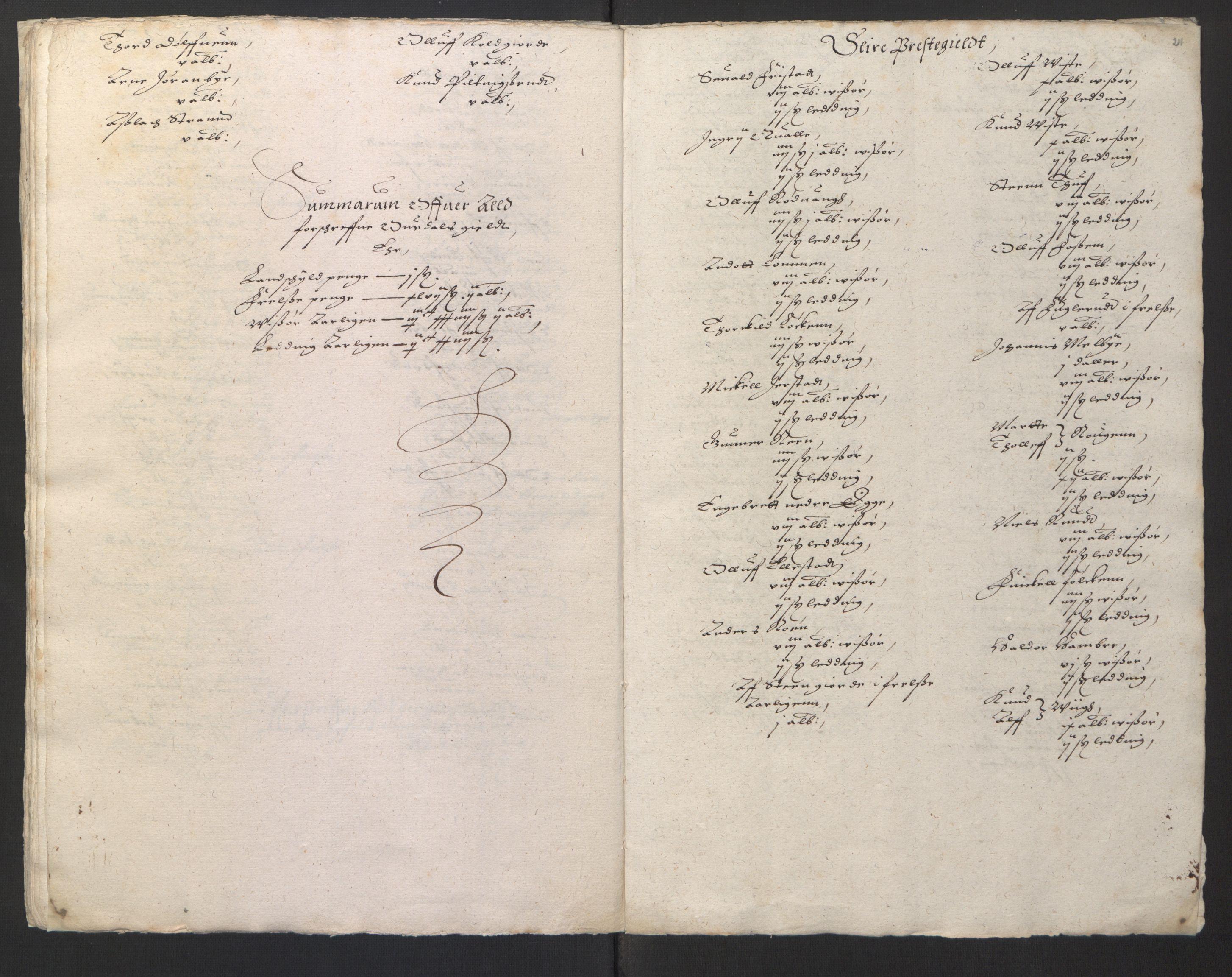 RA, Stattholderembetet 1572-1771, Ek/L0001: Jordebøker før 1624 og til utligning av garnisonsskatt 1624-1626:, 1624-1625, s. 91