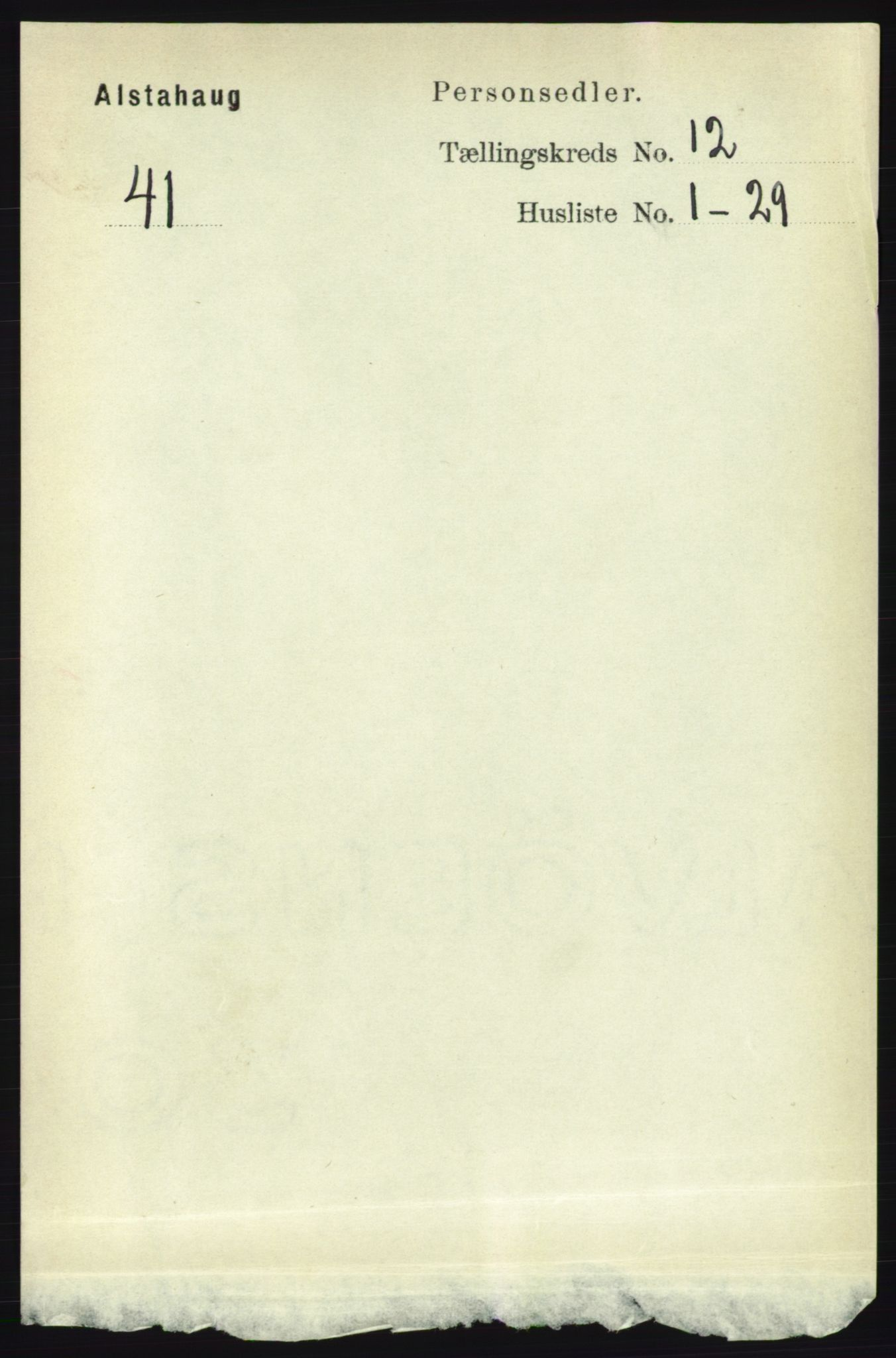 RA, Folketelling 1891 for 1820 Alstahaug herred, 1891, s. 4278