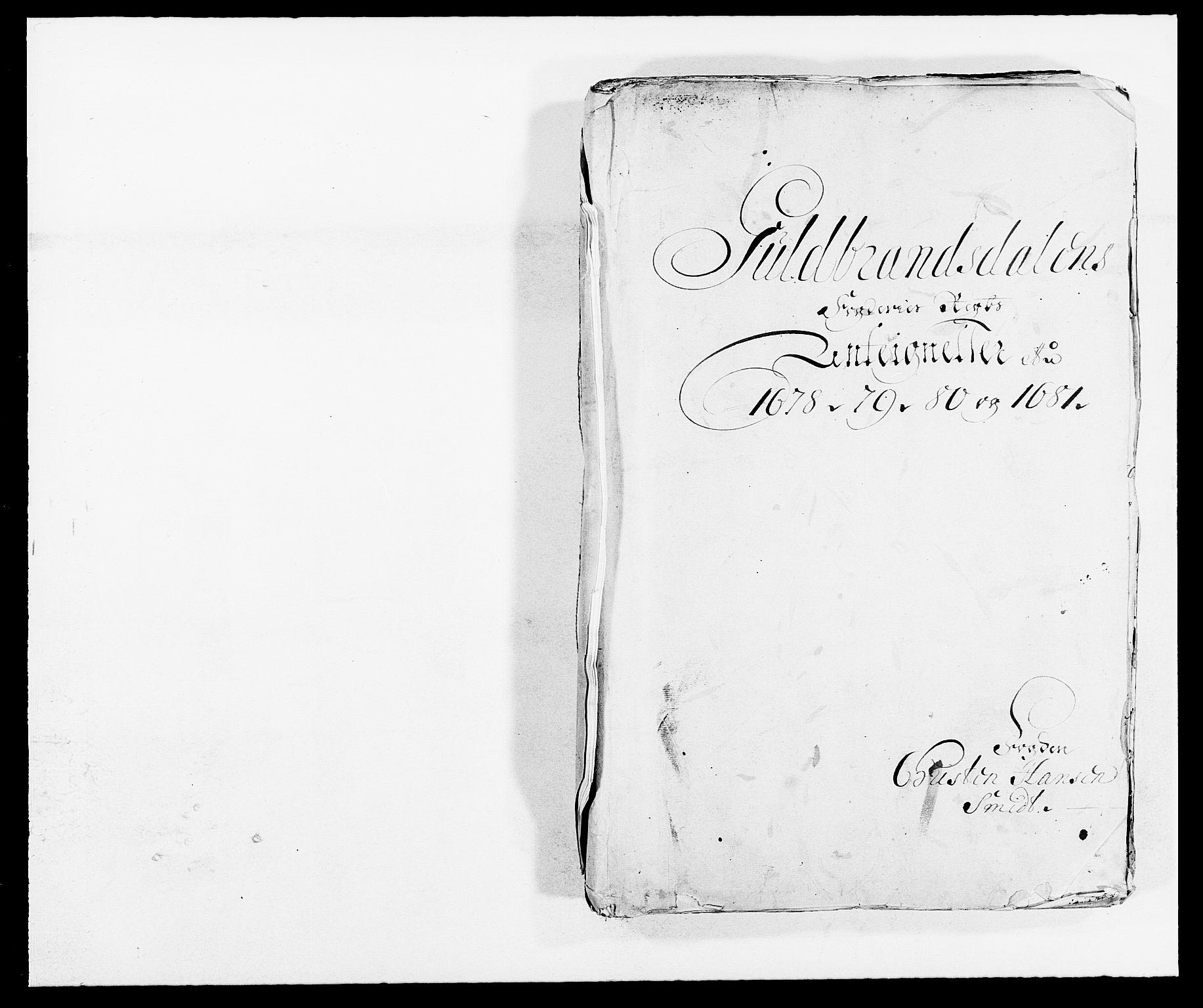 RA, Rentekammeret inntil 1814, Reviderte regnskaper, Fogderegnskap, R17/L1156: Fogderegnskap Gudbrandsdal, 1681, s. 183