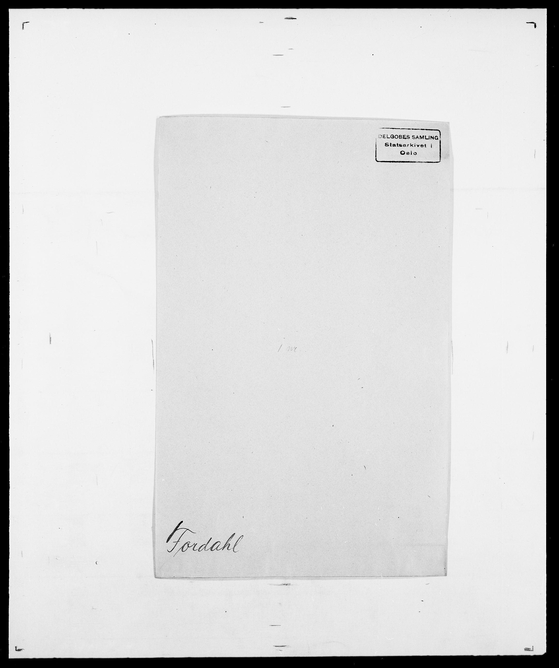 SAO, Delgobe, Charles Antoine - samling, D/Da/L0012: Flor, Floer, Flohr - Fritzner, s. 593