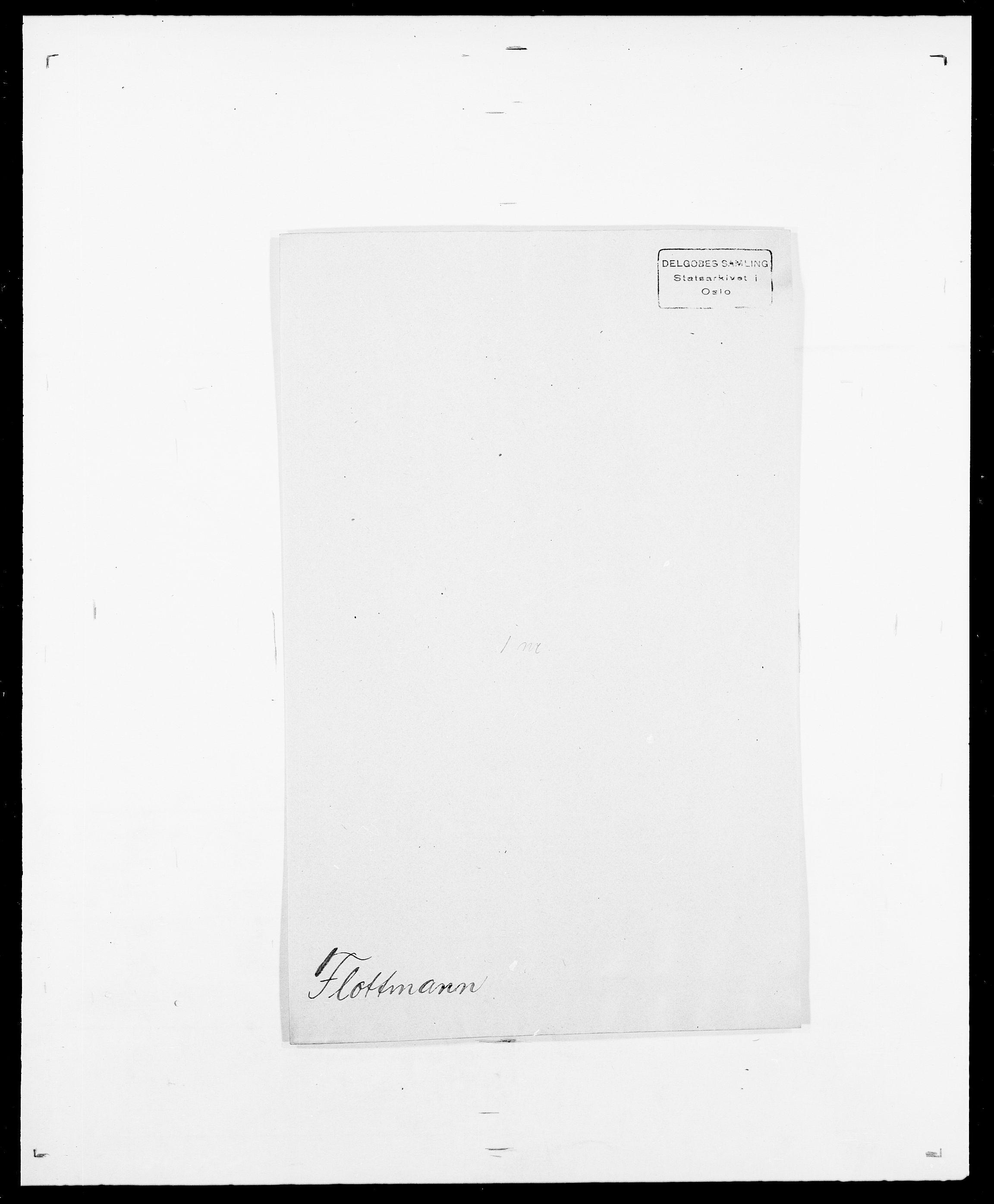 SAO, Delgobe, Charles Antoine - samling, D/Da/L0012: Flor, Floer, Flohr - Fritzner, s. 476