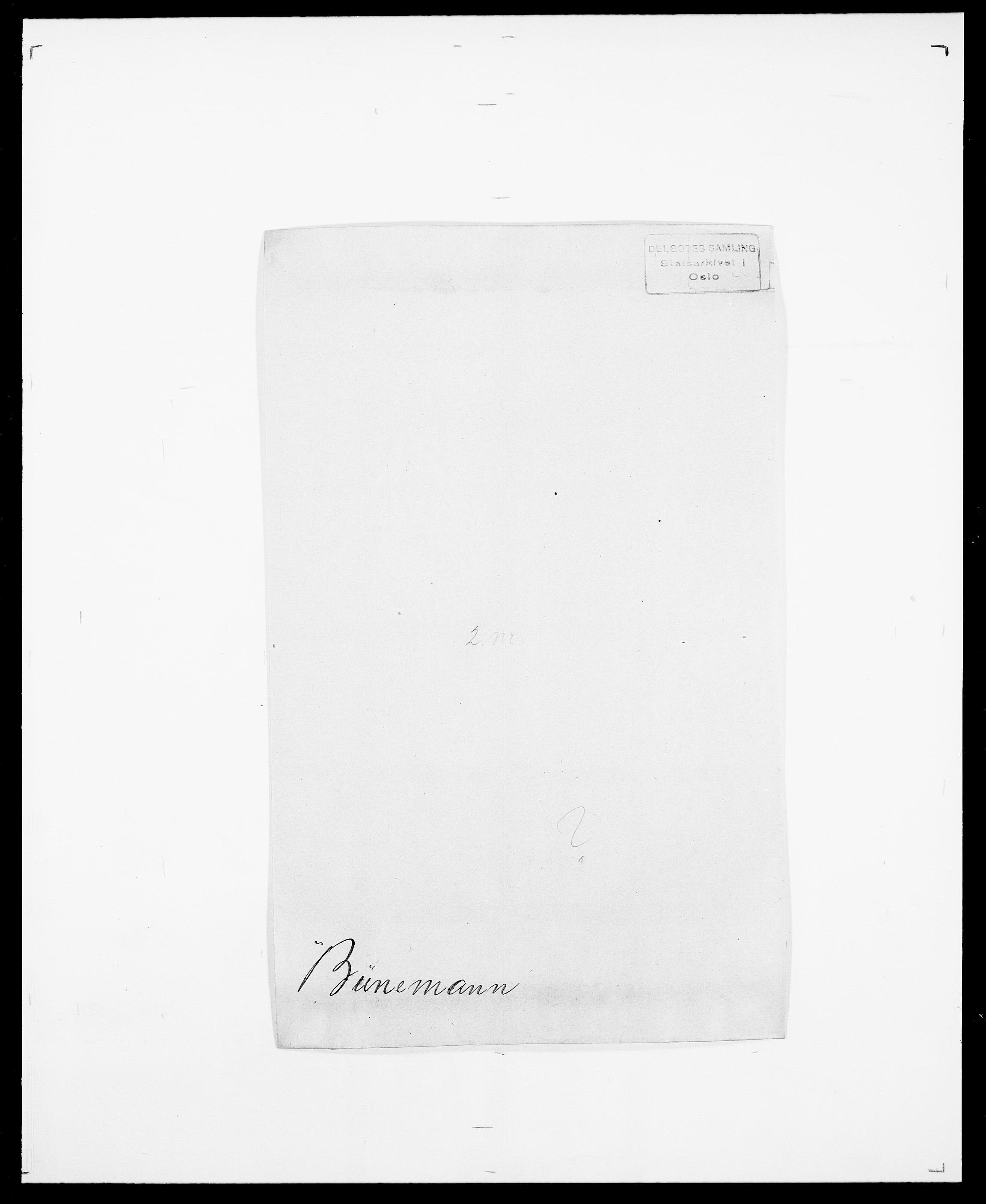 SAO, Delgobe, Charles Antoine - samling, D/Da/L0007: Buaas - Caphengst, s. 535