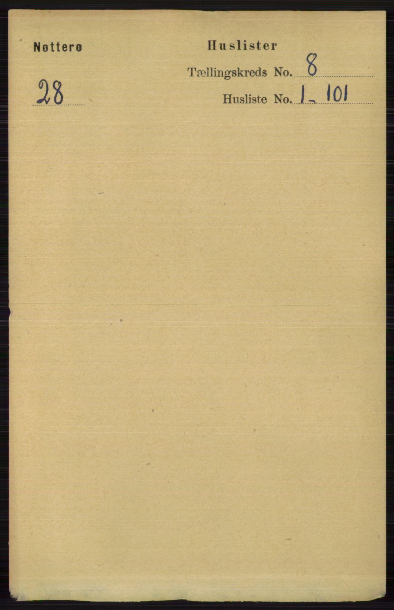 RA, Folketelling 1891 for 0722 Nøtterøy herred, 1891, s. 3750