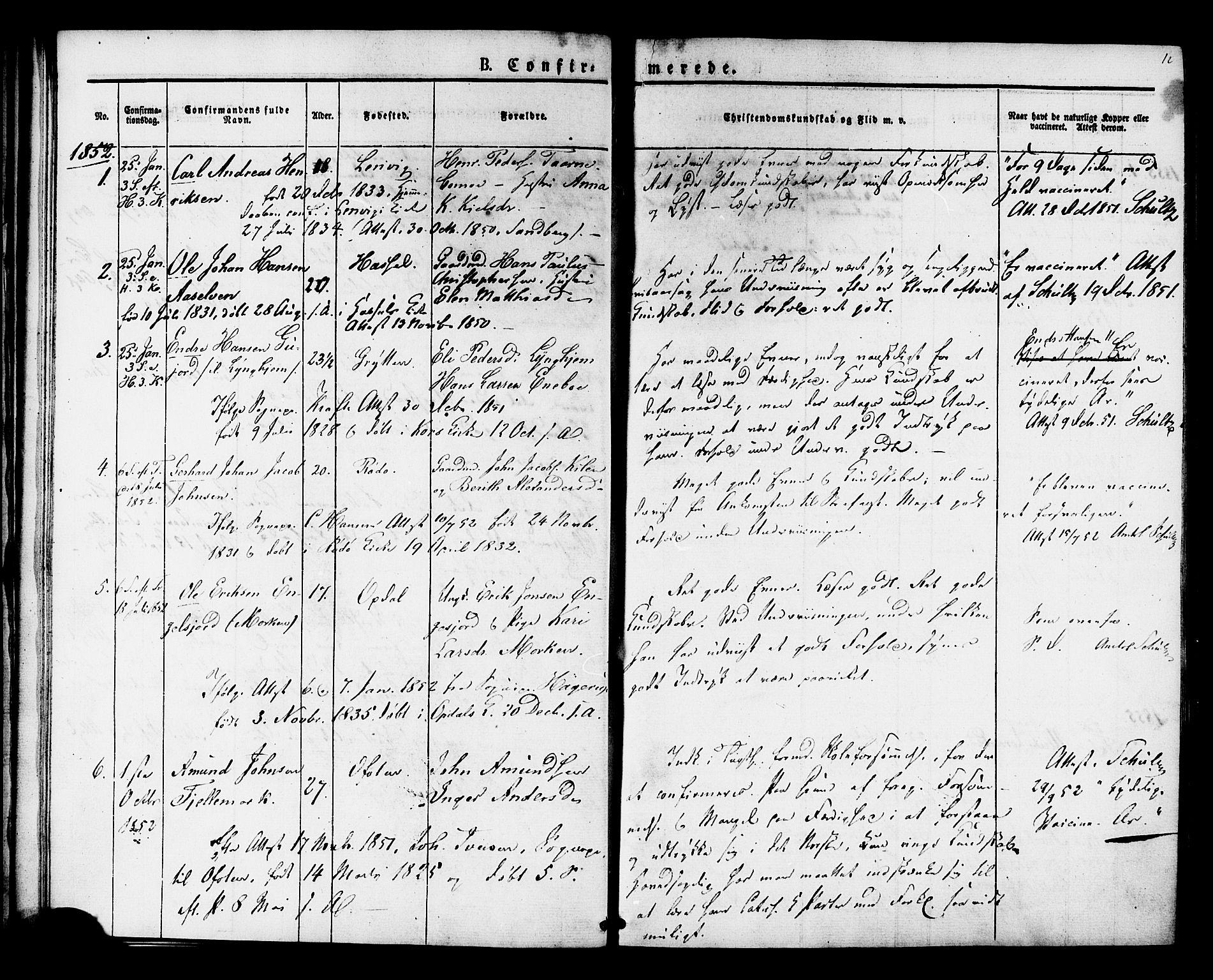 SAT, Ministerialprotokoller, klokkerbøker og fødselsregistre - Sør-Trøndelag, 624/L0480: Ministerialbok nr. 624A01, 1841-1864, s. 12