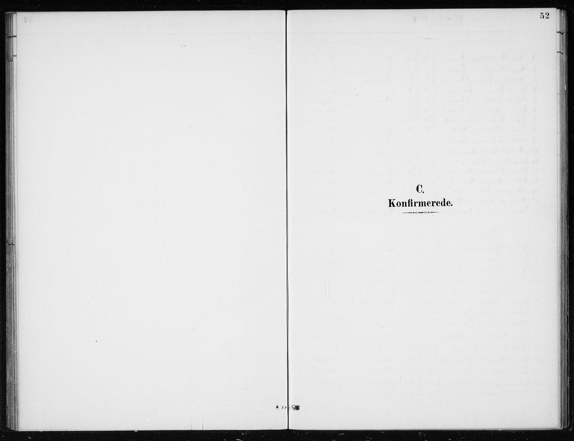 SAB, Kvinnherad Sokneprestembete, H/Haa: Ministerialbok nr. F 1, 1887-1912, s. 52