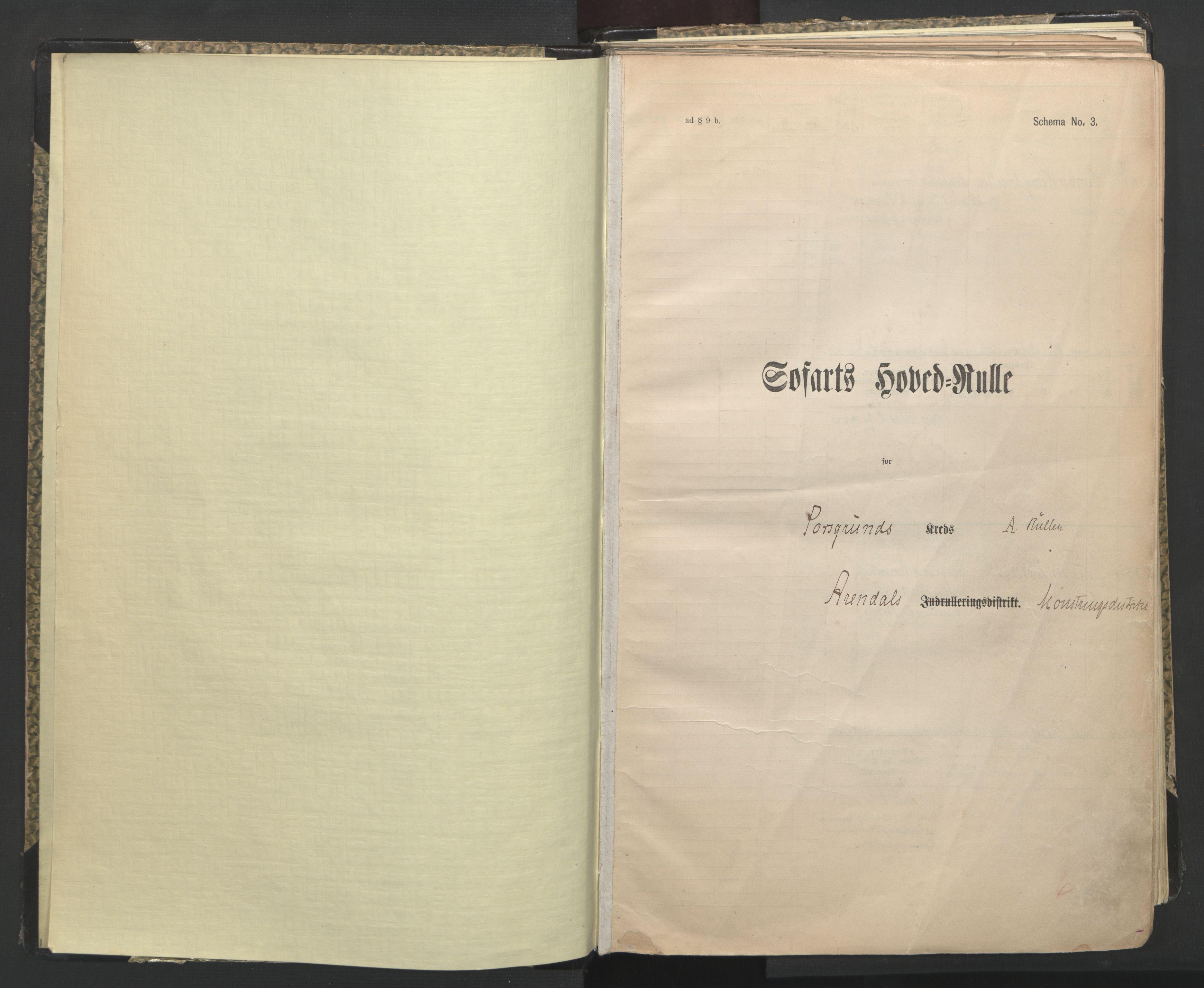 SAKO, Porsgrunn innrulleringskontor, F/Fc/L0009: Hovedrulle, 1920-1948