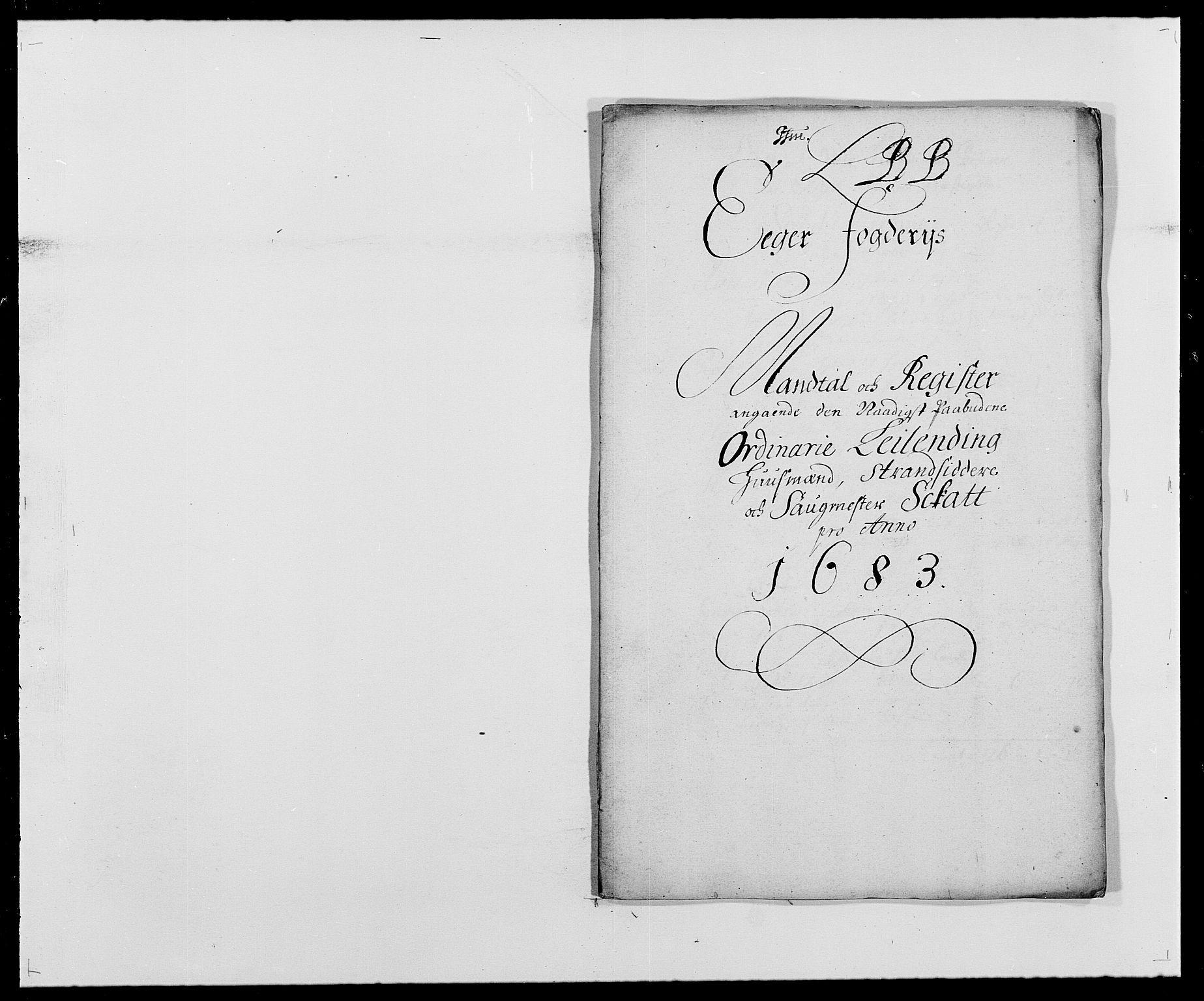 RA, Rentekammeret inntil 1814, Reviderte regnskaper, Fogderegnskap, R26/L1684: Fogderegnskap Eiker, 1679-1686, s. 354