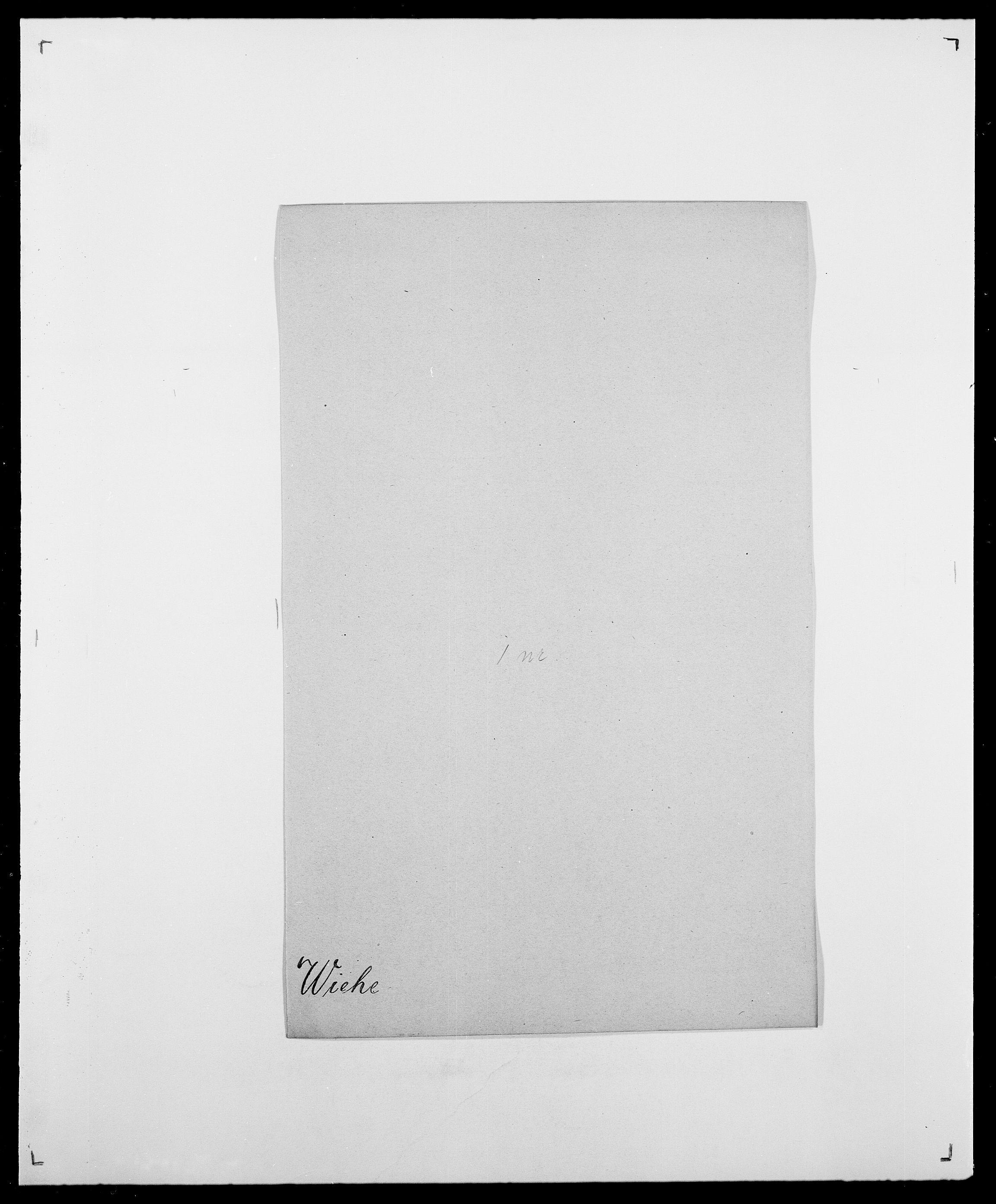 SAO, Delgobe, Charles Antoine - samling, D/Da/L0041: Vemmestad - Viker, s. 485