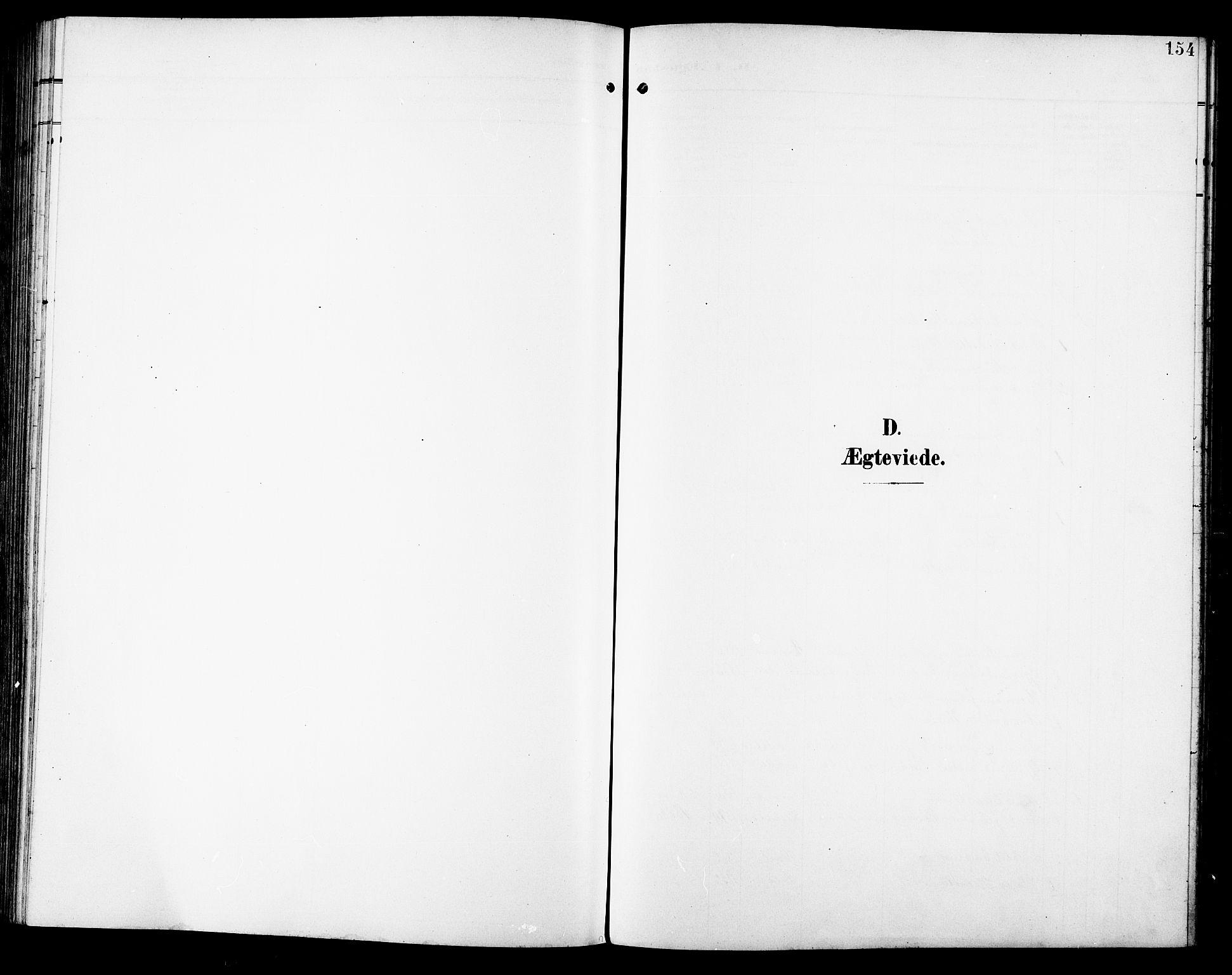 SAT, Ministerialprotokoller, klokkerbøker og fødselsregistre - Sør-Trøndelag, 672/L0864: Klokkerbok nr. 672C03, 1902-1914, s. 154