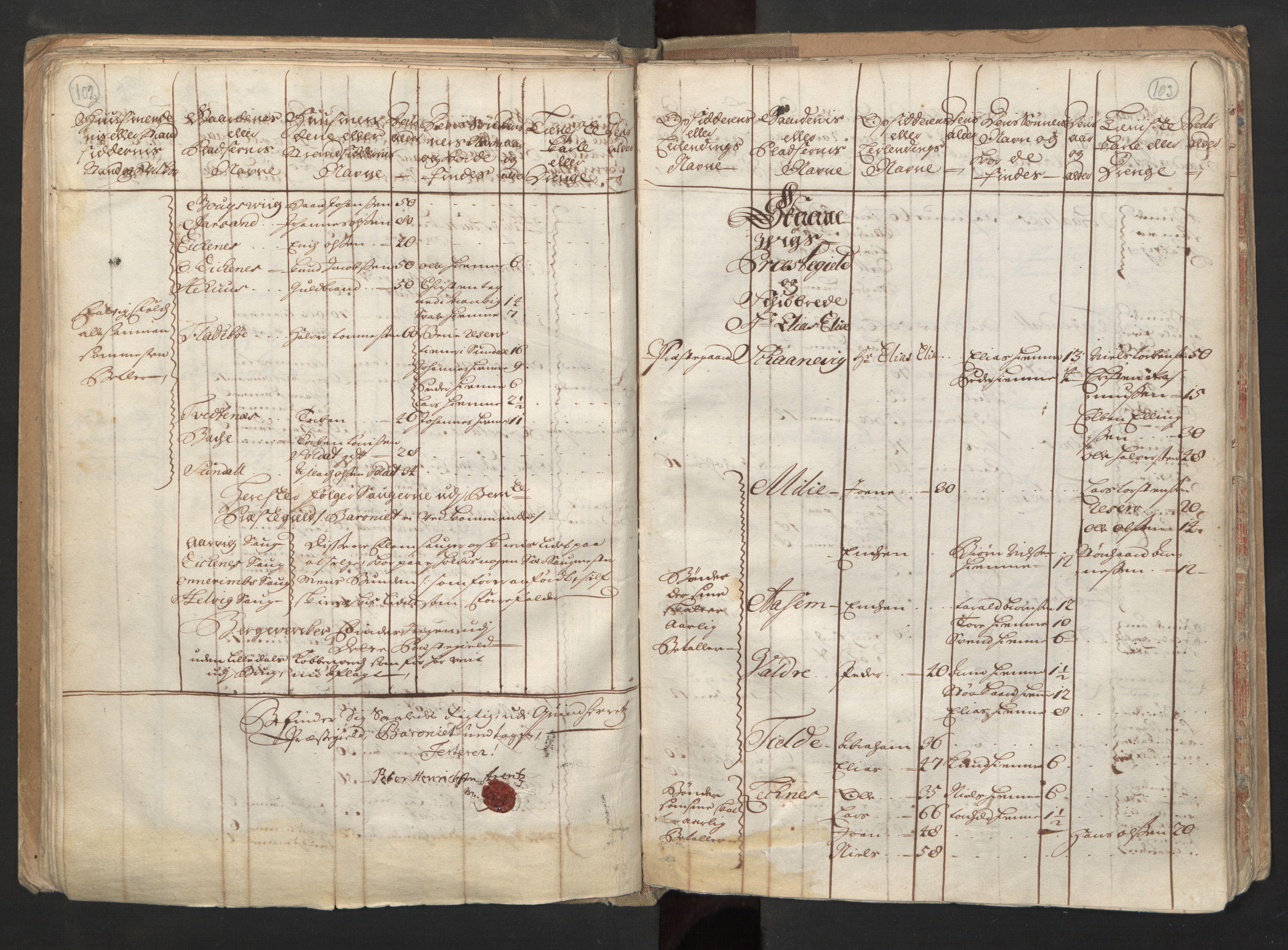 RA, Manntallet 1701, nr. 6: Sunnhordland fogderi og Hardanger fogderi, 1701, s. 102-103