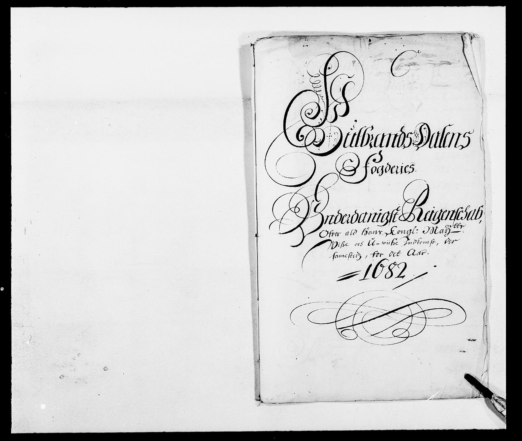 RA, Rentekammeret inntil 1814, Reviderte regnskaper, Fogderegnskap, R17/L1157: Fogderegnskap Gudbrandsdal, 1682-1689, s. 44