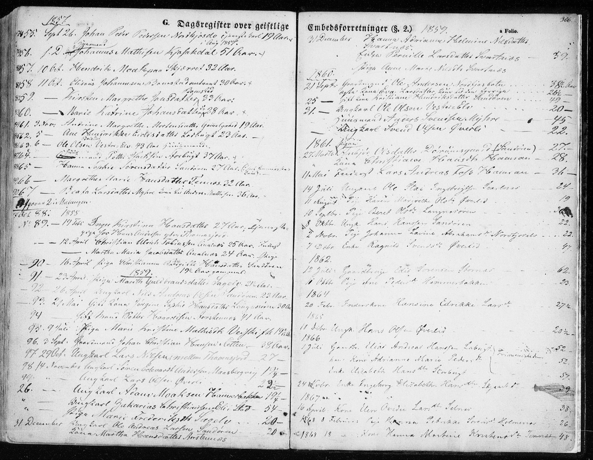 SATØ, Balsfjord sokneprestembete, Ministerialbok nr. 3, 1856-1870, s. 306