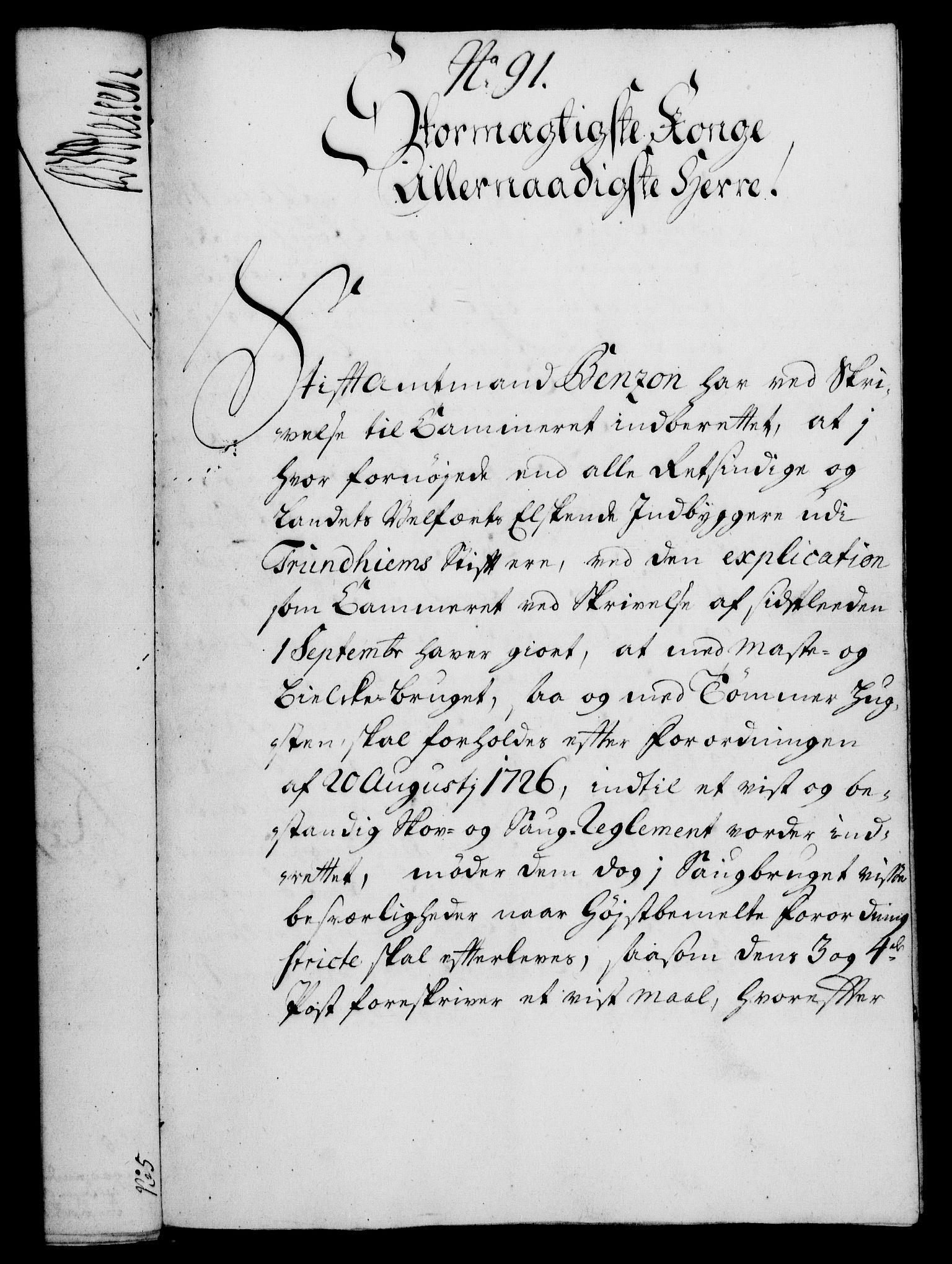 RA, Rentekammeret, Kammerkanselliet, G/Gf/Gfa/L0014: Norsk relasjons- og resolusjonsprotokoll (merket RK 52.14), 1731, s. 482
