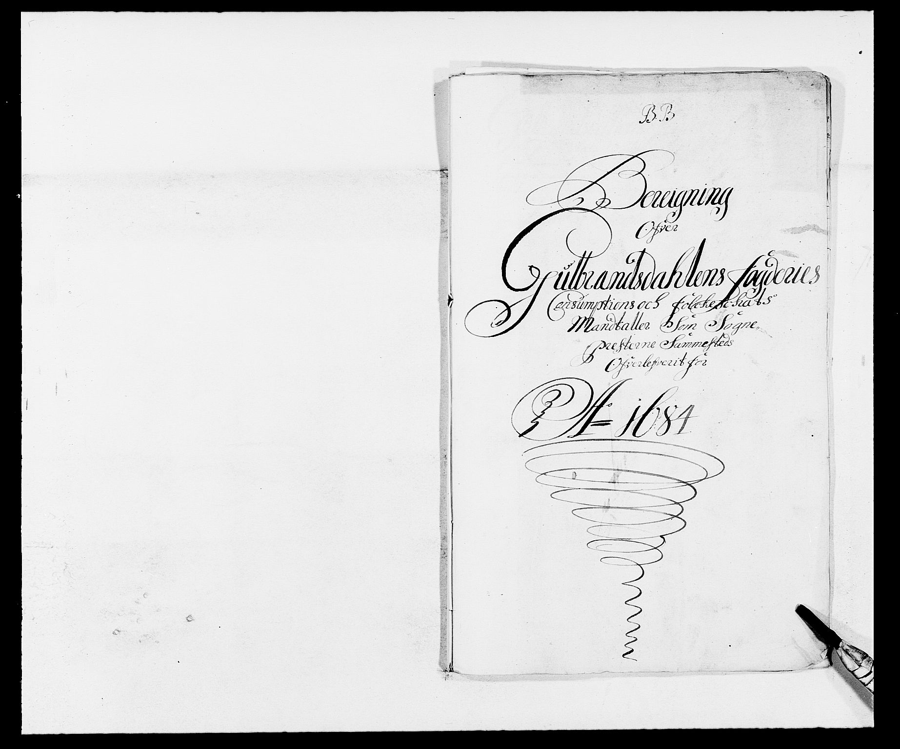 RA, Rentekammeret inntil 1814, Reviderte regnskaper, Fogderegnskap, R17/L1159: Fogderegnskap Gudbrandsdal, 1682-1689, s. 17