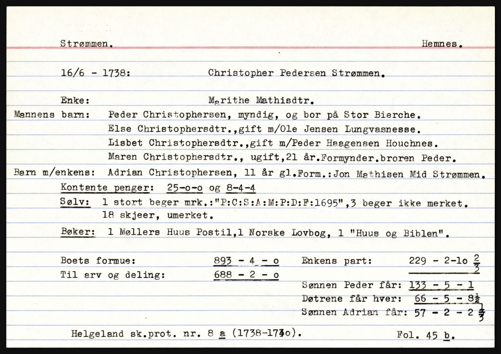 SAT, Helgeland sorenskriveri, 3, 1686-1746, s. 3563