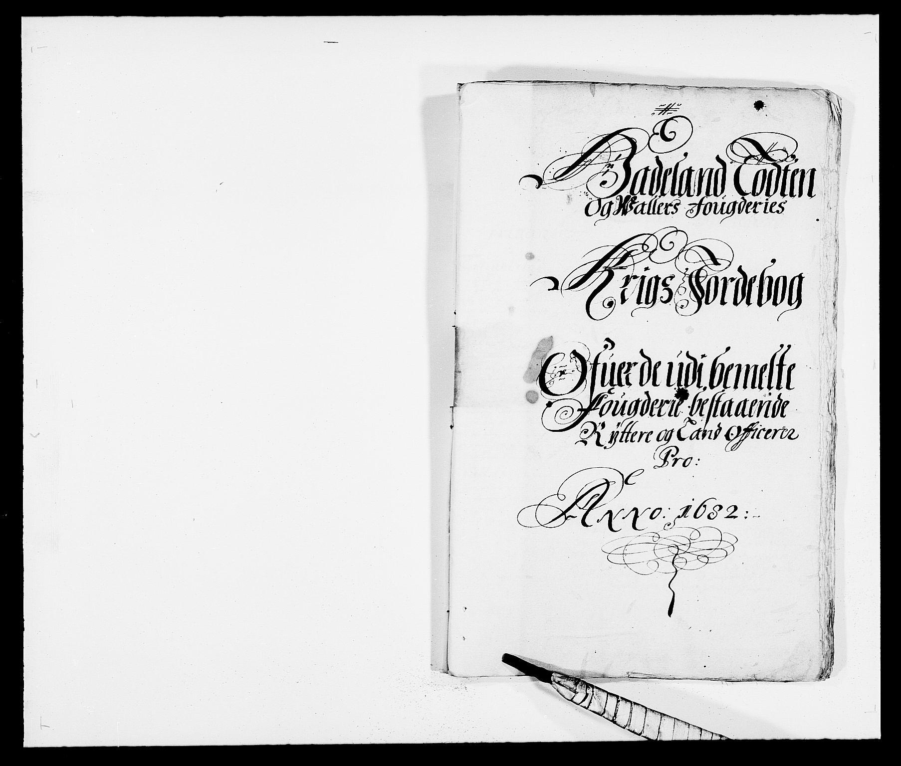 RA, Rentekammeret inntil 1814, Reviderte regnskaper, Fogderegnskap, R18/L1281: Fogderegnskap Hadeland, Toten og Valdres, 1682, s. 195
