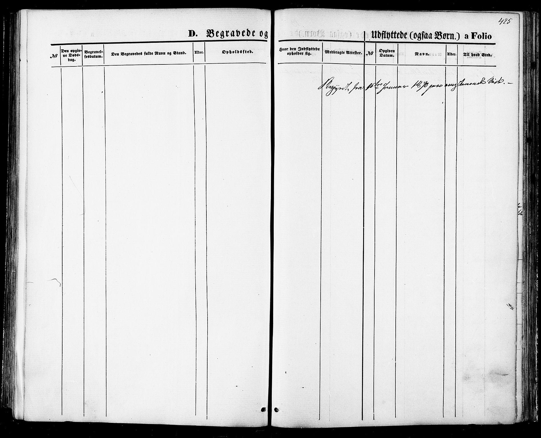 SAT, Ministerialprotokoller, klokkerbøker og fødselsregistre - Sør-Trøndelag, 668/L0807: Ministerialbok nr. 668A07, 1870-1880, s. 425
