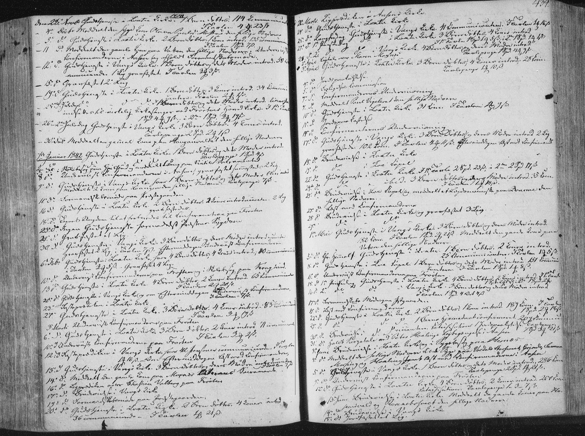 SAT, Ministerialprotokoller, klokkerbøker og fødselsregistre - Nord-Trøndelag, 713/L0115: Ministerialbok nr. 713A06, 1838-1851, s. 434