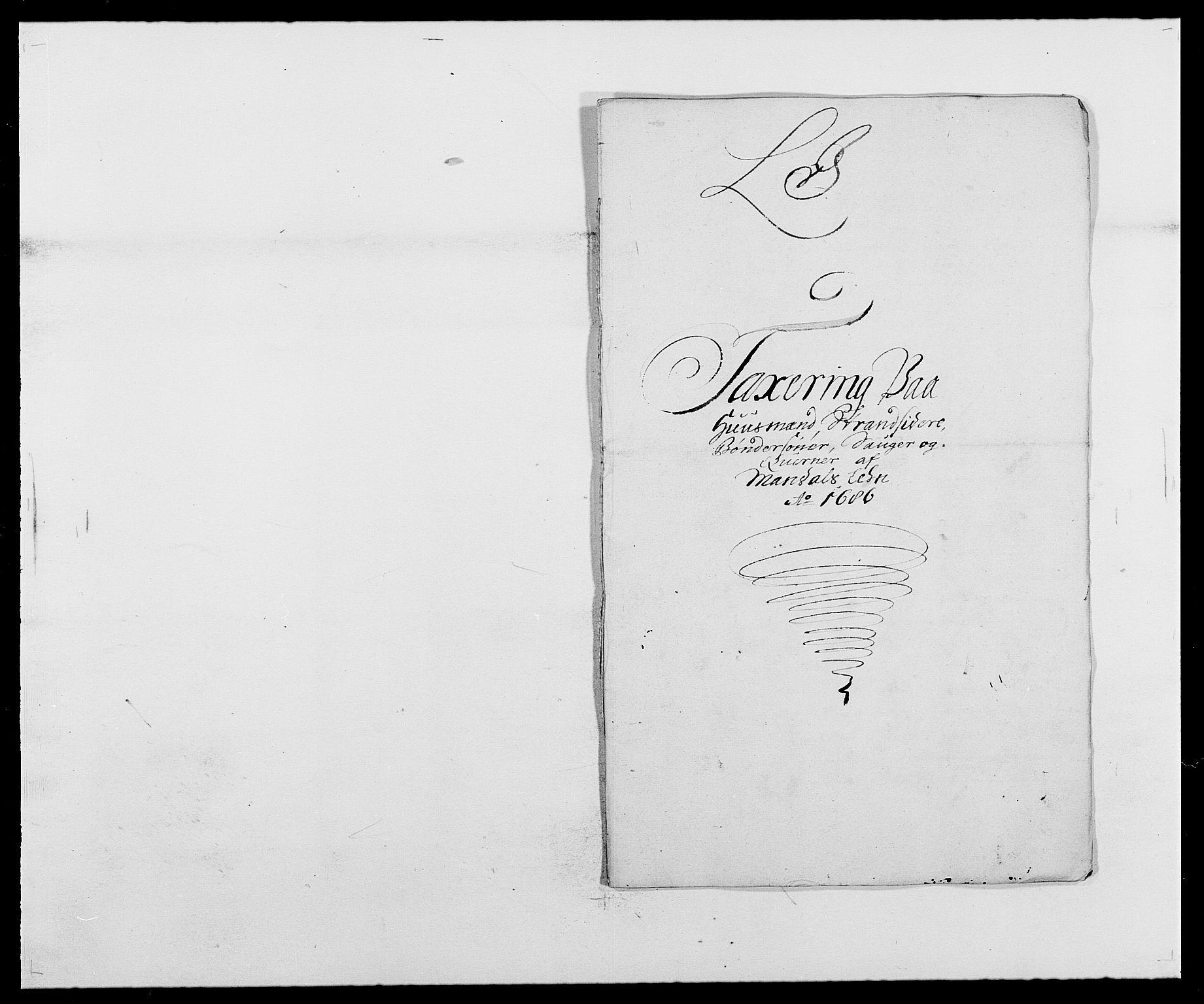 RA, Rentekammeret inntil 1814, Reviderte regnskaper, Fogderegnskap, R42/L2542: Mandal fogderi, 1685-1687, s. 133