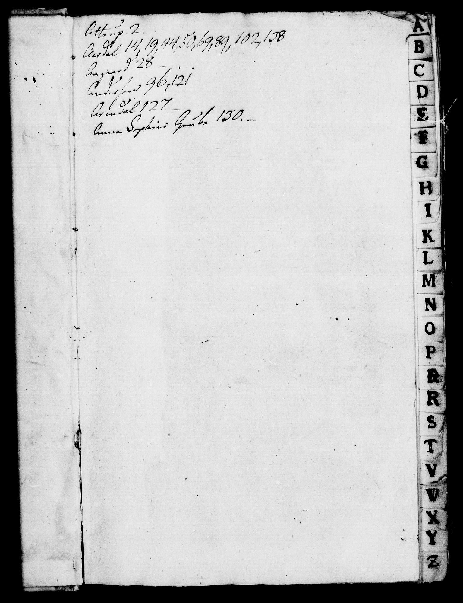 RA, Rentekammeret, Kammerkanselliet, G/Gf/Gfa/L0005: Norsk relasjons- og resolusjonsprotokoll (merket RK 52.5), 1722, s. 3