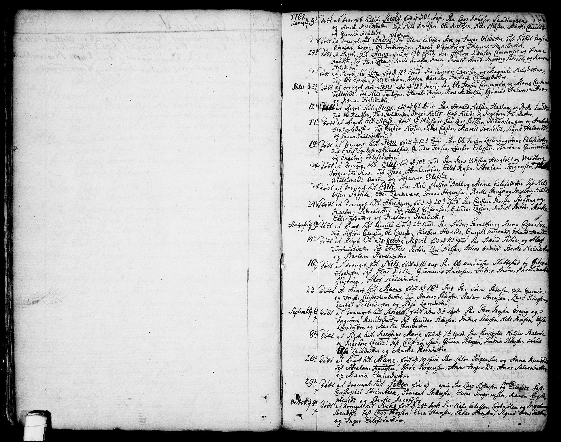 SAKO, Sannidal kirkebøker, F/Fa/L0002: Ministerialbok nr. 2, 1767-1802, s. 25