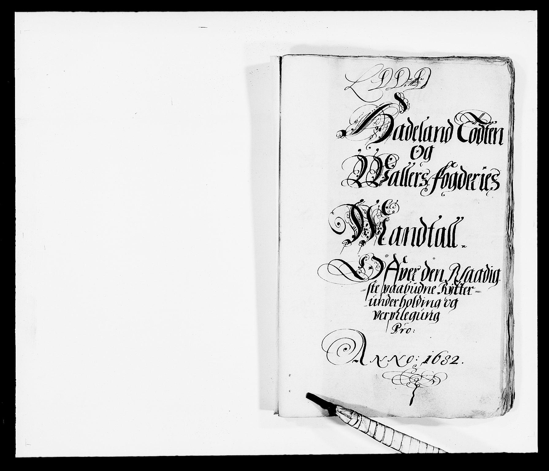 RA, Rentekammeret inntil 1814, Reviderte regnskaper, Fogderegnskap, R18/L1281: Fogderegnskap Hadeland, Toten og Valdres, 1682, s. 124